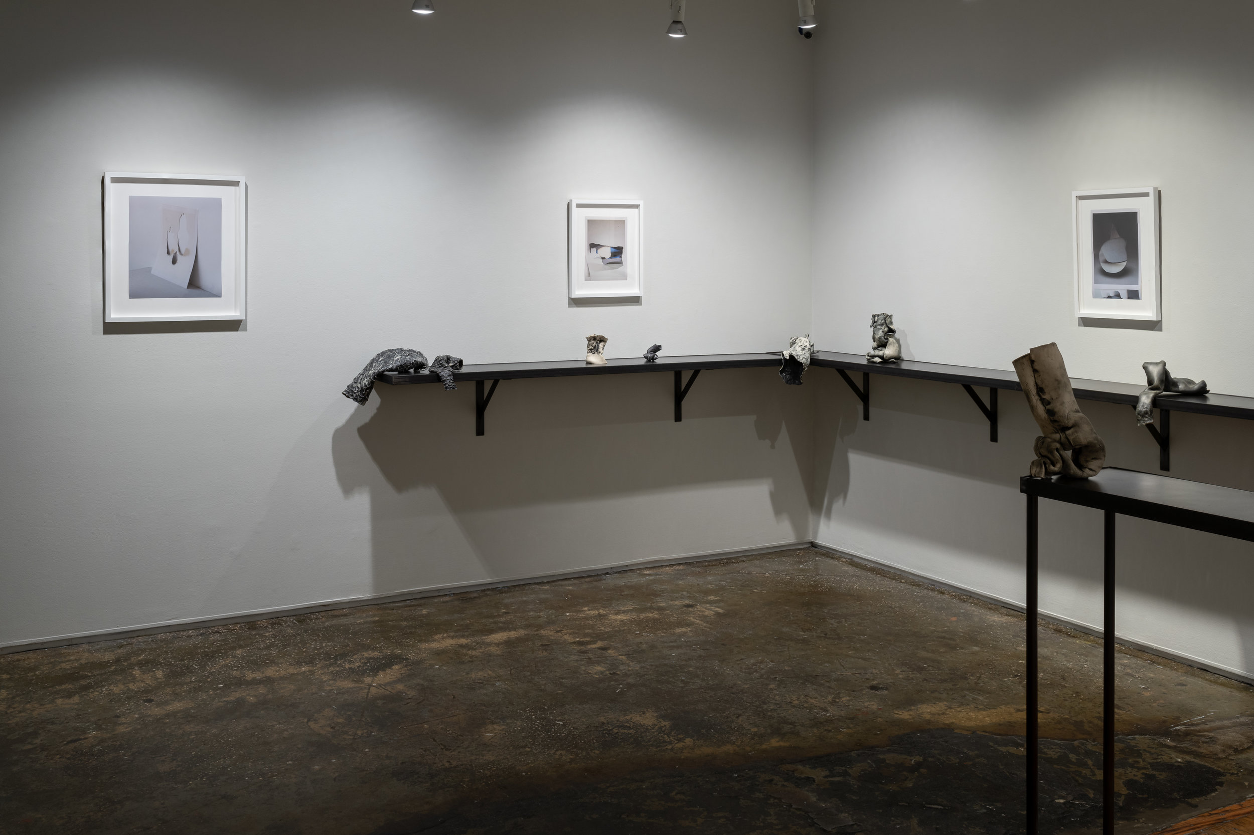 Installation view of  Rendered Void.  Photo by Sebastian Bach.