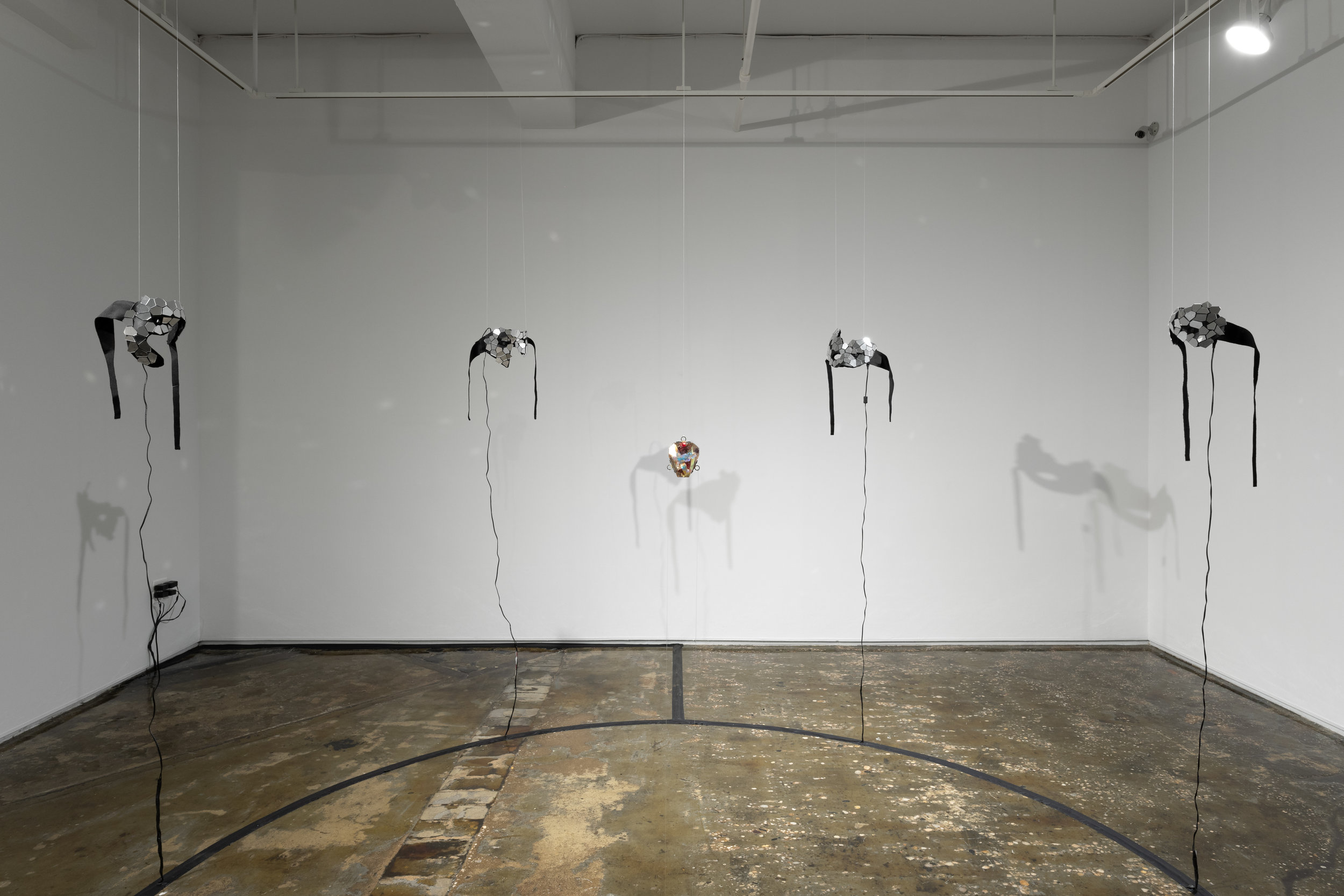 Installation view of  For Fates . Photo by Sebastian Bach.