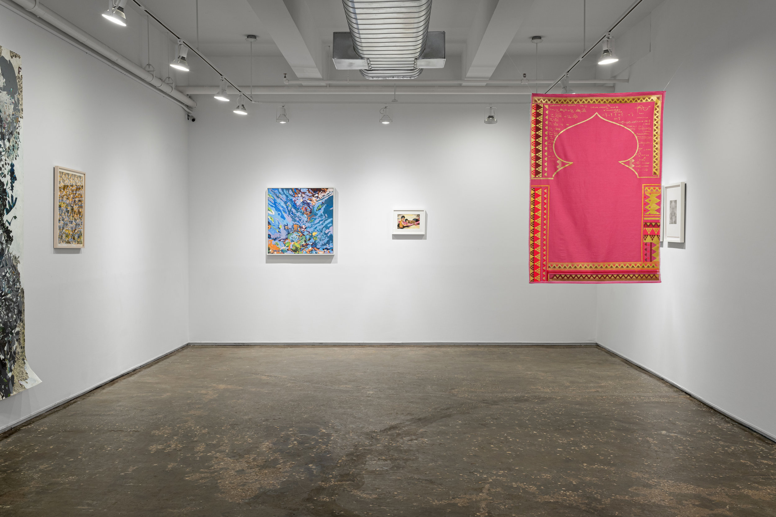 Installation view of  Active directions of the mind . Photo by Sebastian Bach.