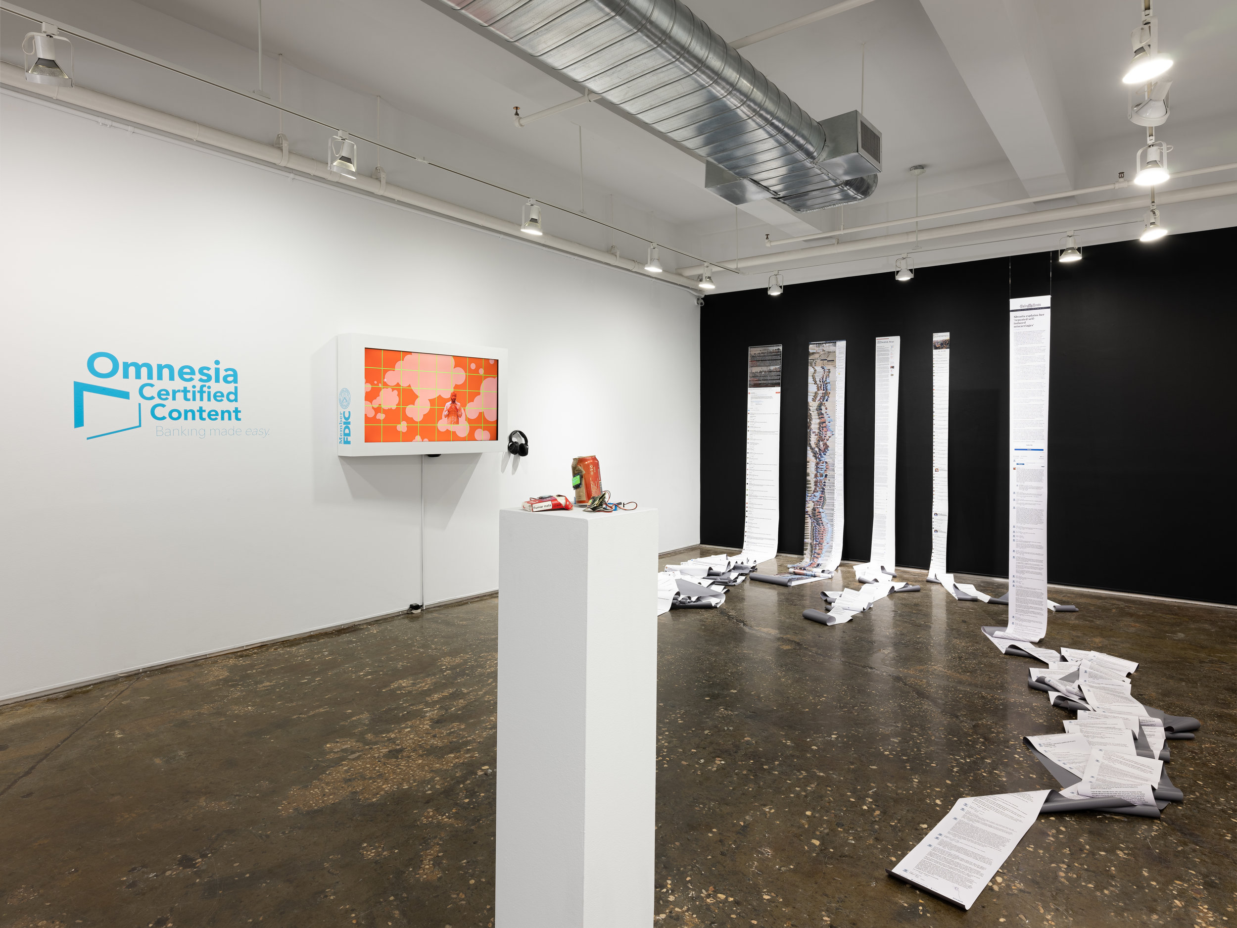 Installation view of  The Scalability Project . Photo by Sebastian Bach.
