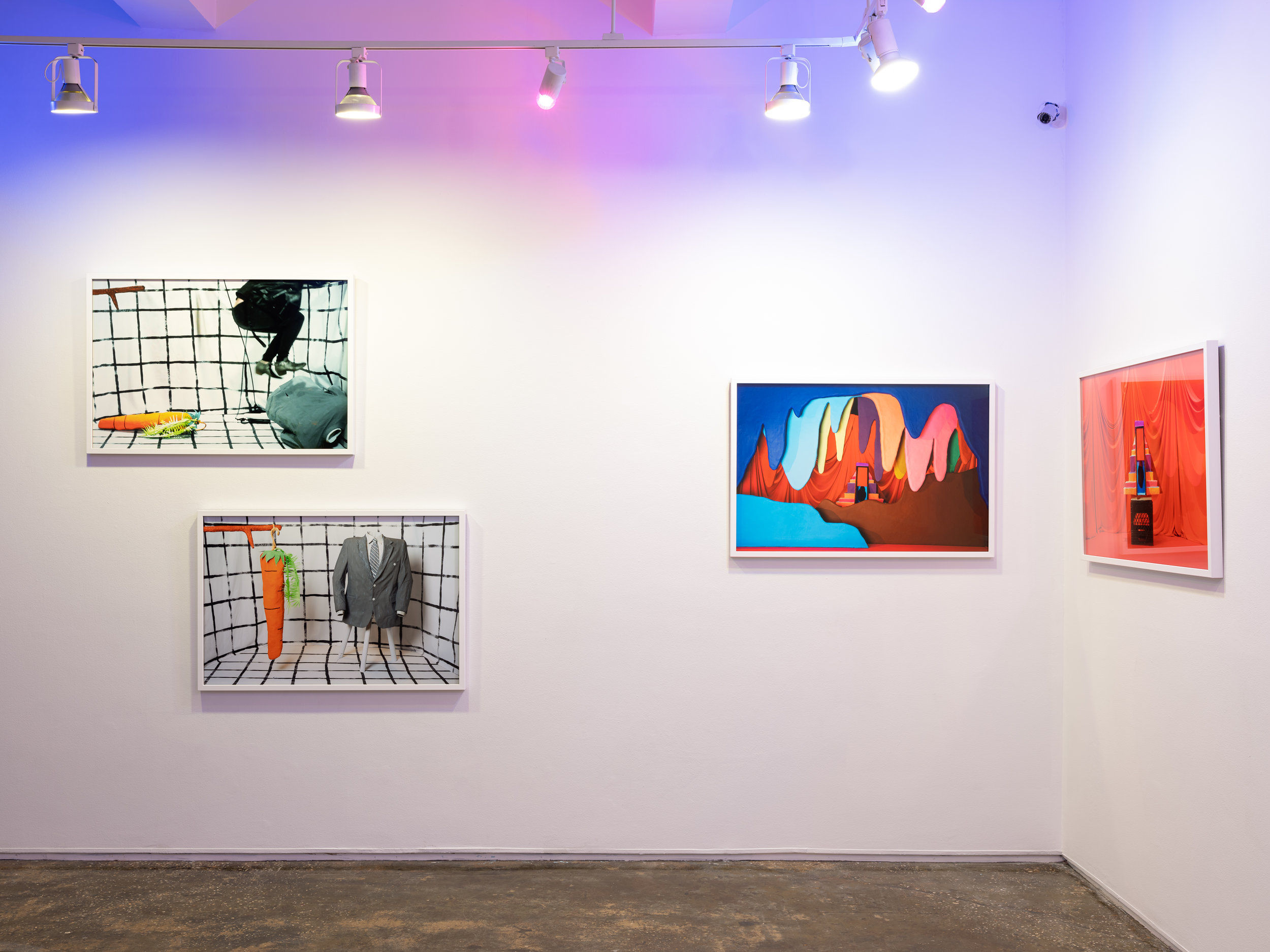 Installation view of  Letters to My Imagination.  Photo by Sebastian Bach.