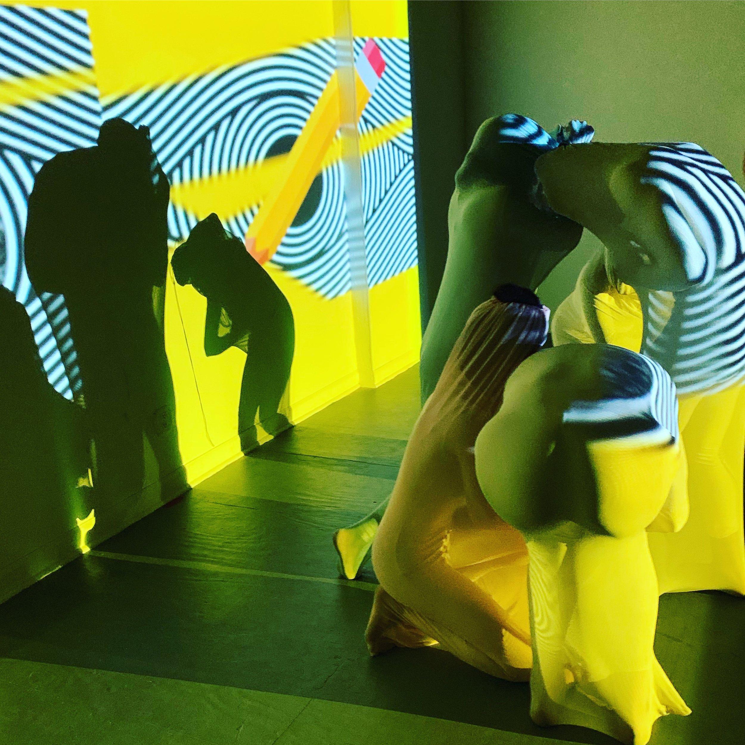 Tabdeeli  , 2017-2019  Performance with five dancers, video projection, soundtrack