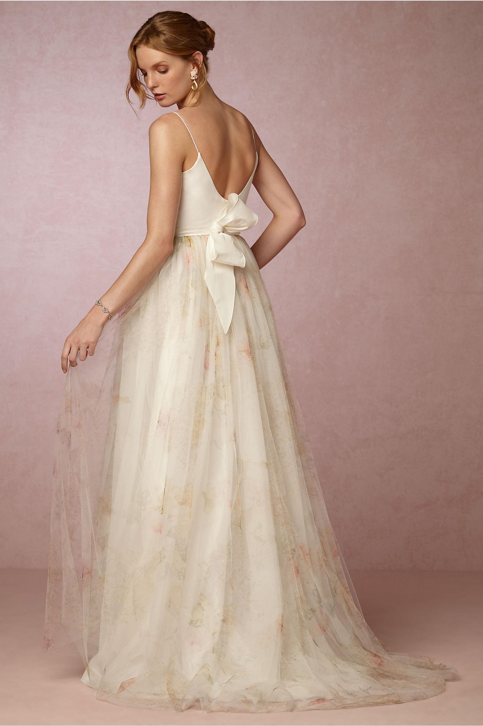 bhldn floral wedding dress in pensacola