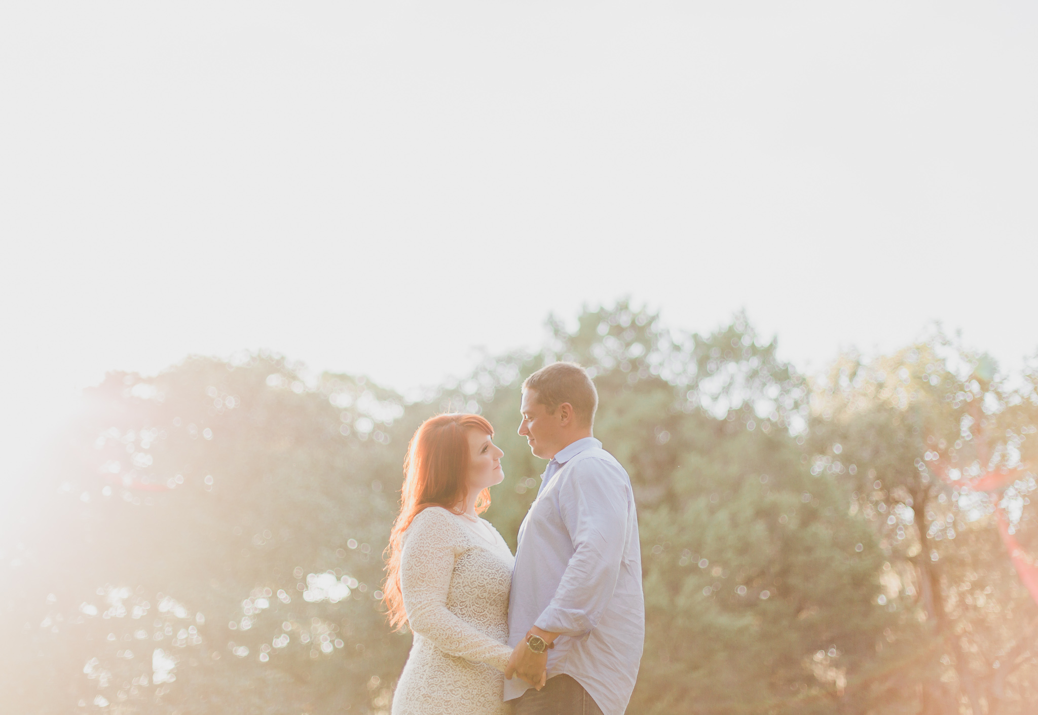 engagement session photos in eden gardens state park