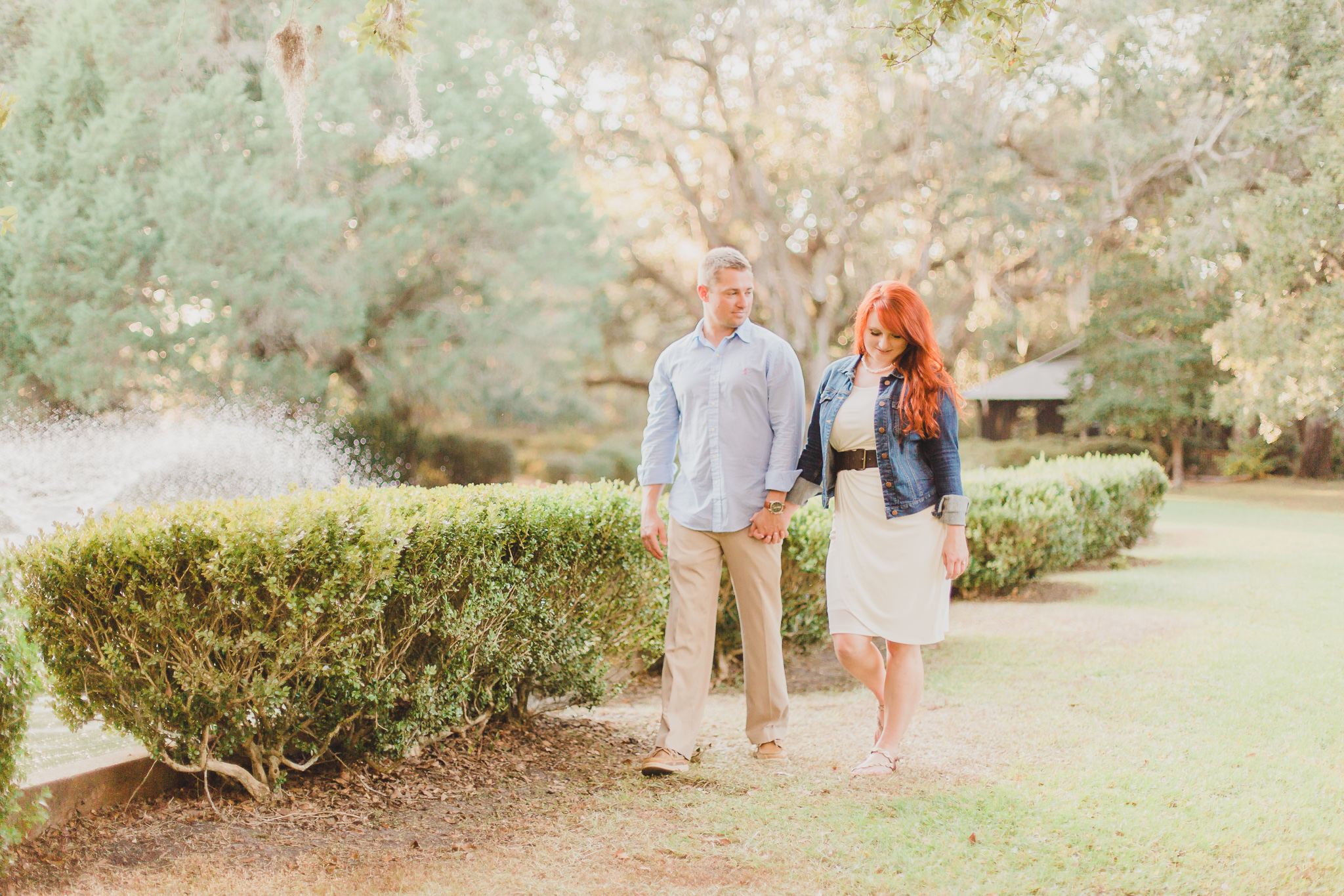 engagement pictures in eden gardens state park