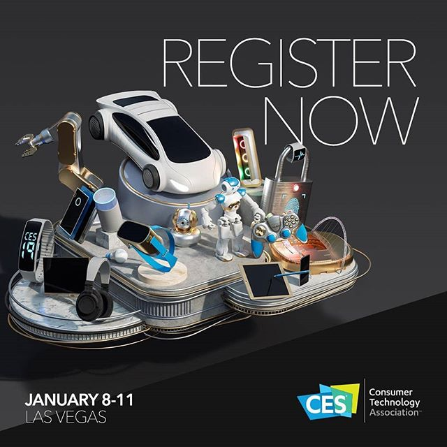 CES is the world's gathering place for all those who thrive on the business of consumer technologies. It has served as the proving ground for innovators and breakthrough technologies for 50 years — the global stage where next-generation innovations are introduced to the marketplace. #CES2019 will take place on January 8th– 11thin Las Vegas. Register today at attend.ces.tech/register!💻✨