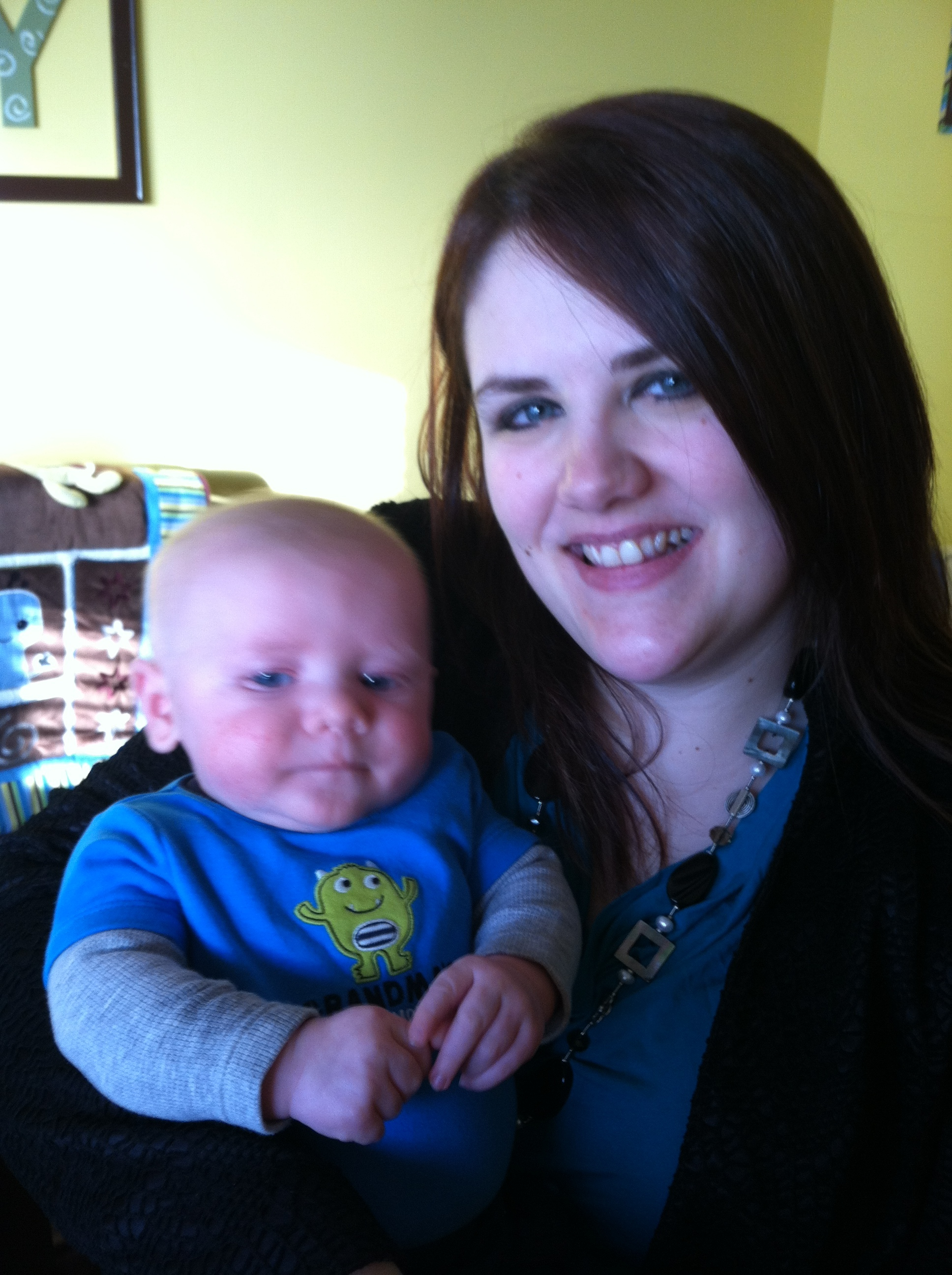 PIC: First day back to work after maternity leave!