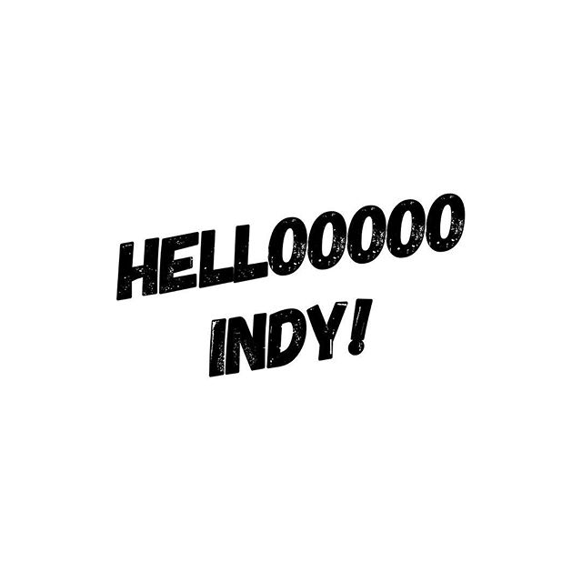 Headed to Indy for the weekend!  Check my stories for updates - going to try and post a bunch! :)