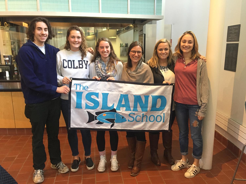 Chase Goldston (SU '13), Hannah Piersiak (SP '12), Melinda Edie (F '14), Glenn, Taylor, Eleonor Bauwens (SU '15)