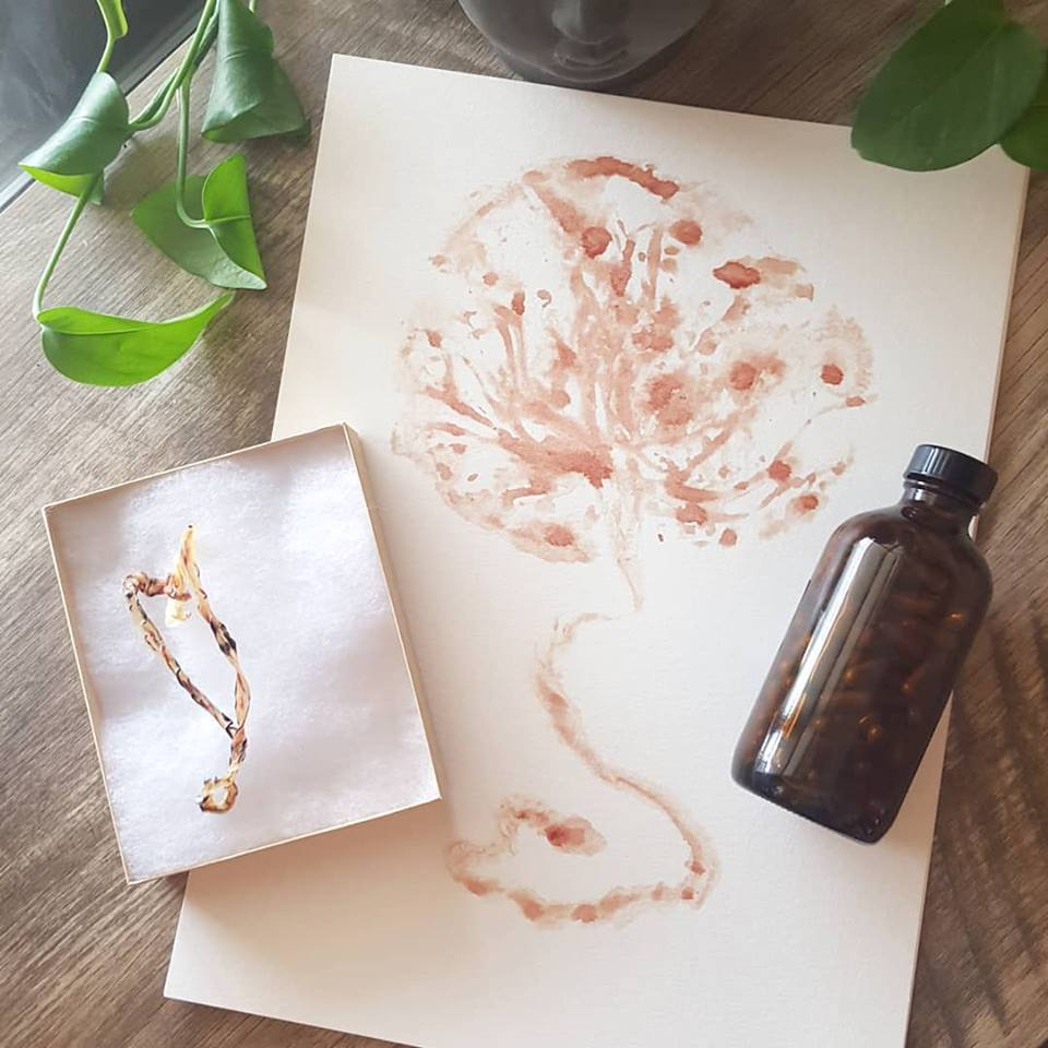 Placenta Print, Umbilical Cord Keepsake and Placenta Capsules