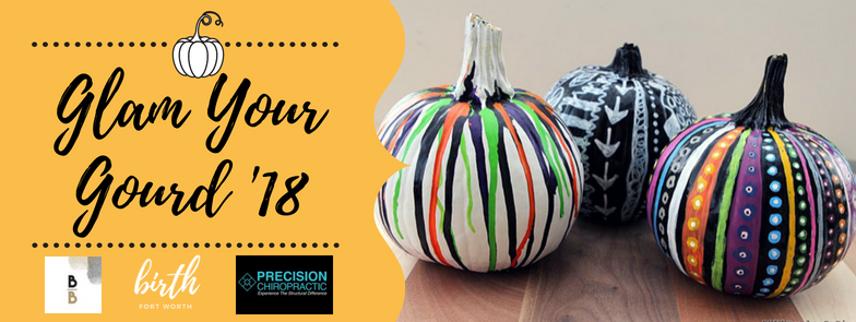 3rd Annual Glam Your Gourd Free Pumpkin Decorating Event Sept. 22