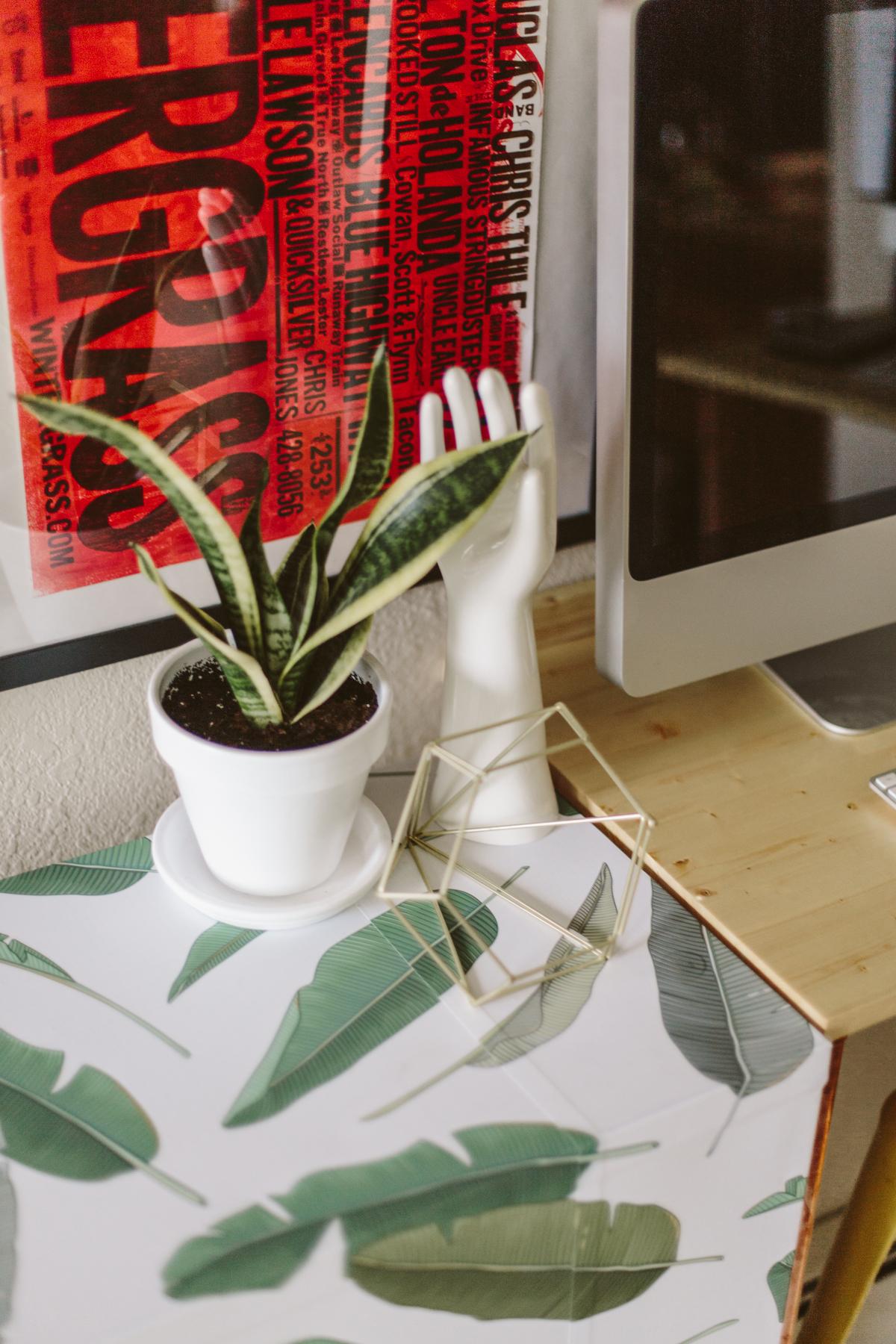 DIY file cabinet makeover