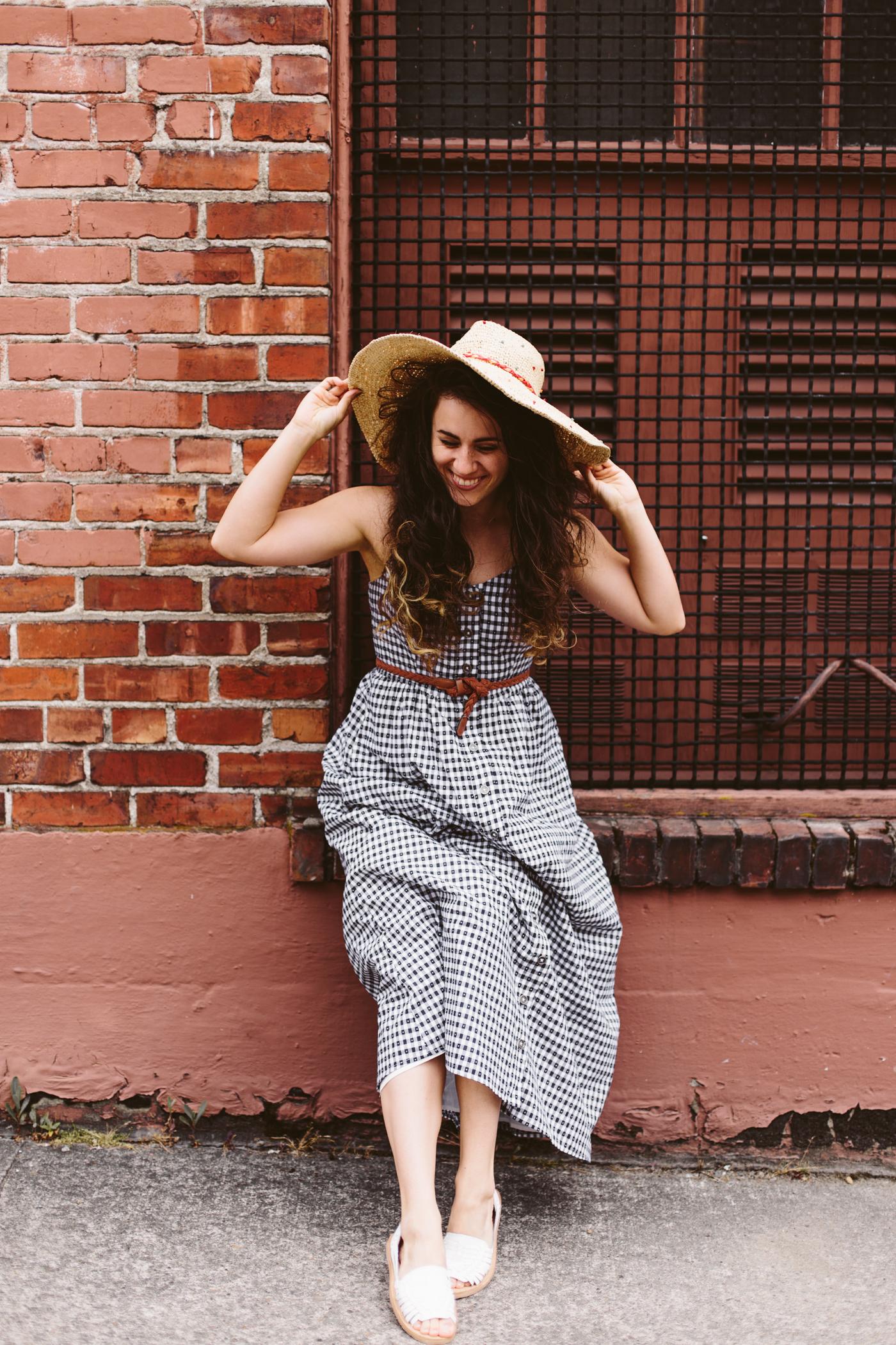 Modcloth Gingham Dress
