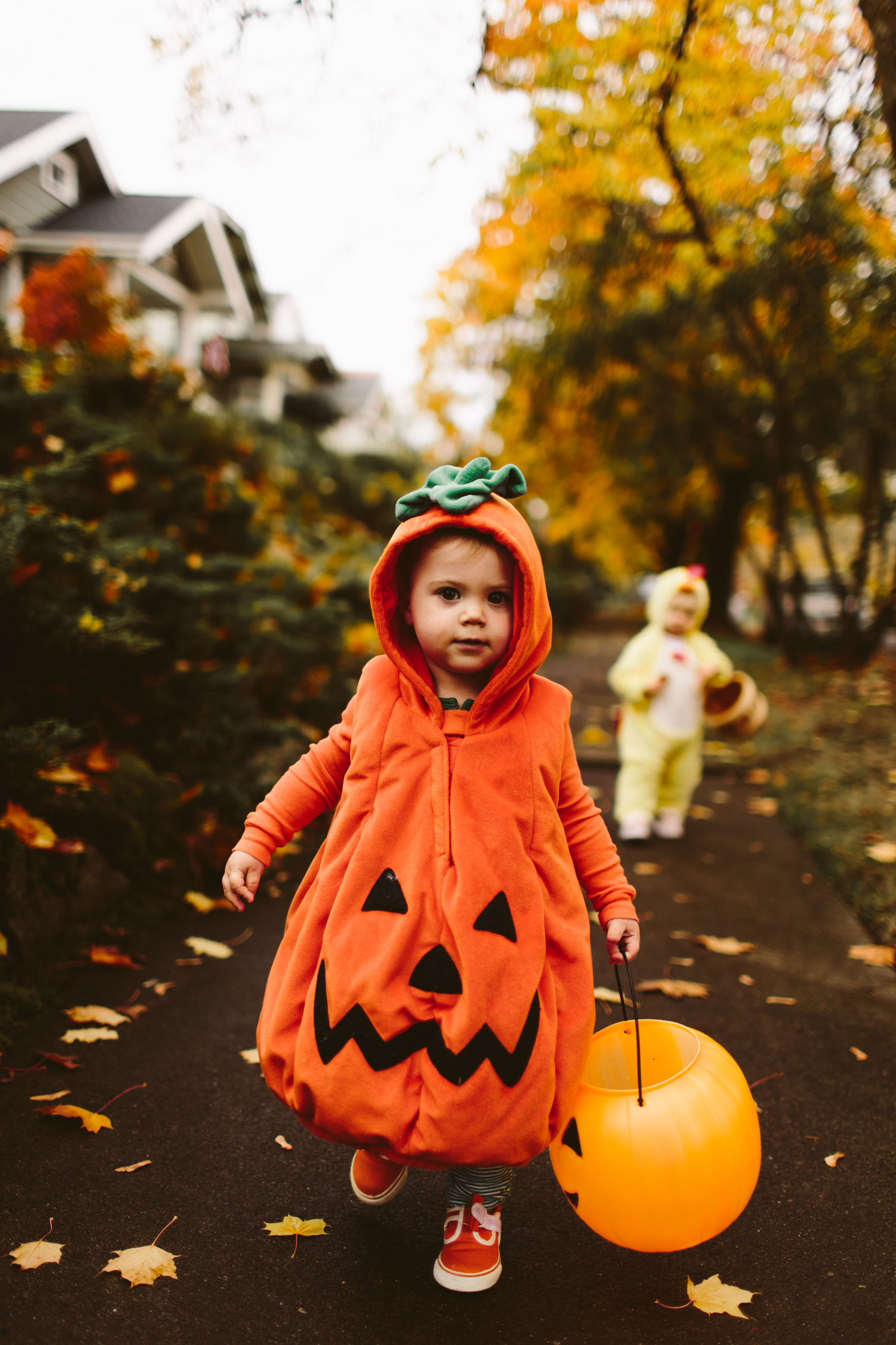 halloween toddler pumpkin costume