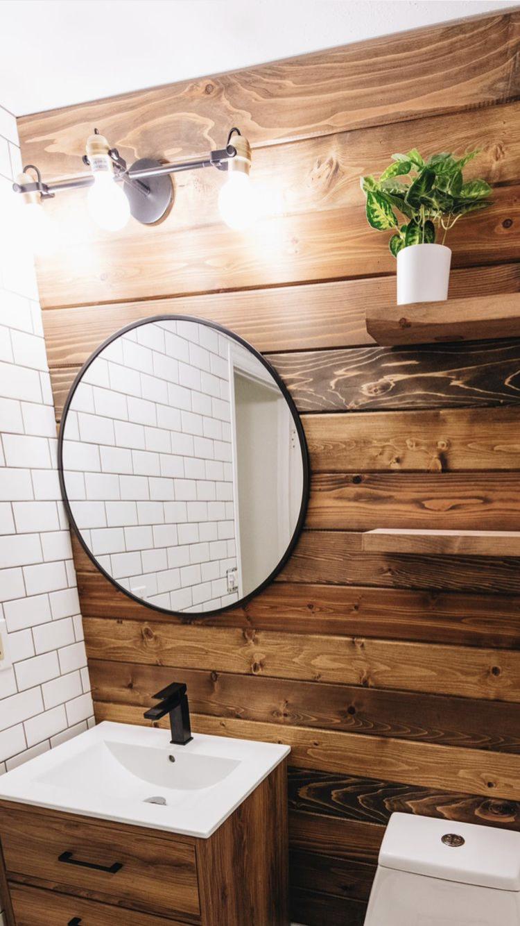 Rustic Industrial Bathroom Design — Liz Morrow