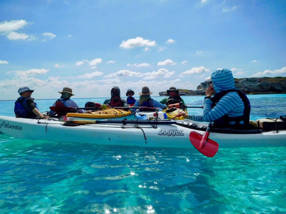 Gap year students embark on an 8 day kayak expedition.