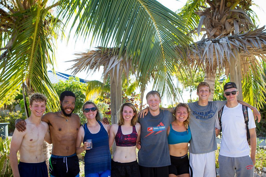 "Gap year students and leaders feeling very satisfied after completing the (""Talapiathon"") triathlon."