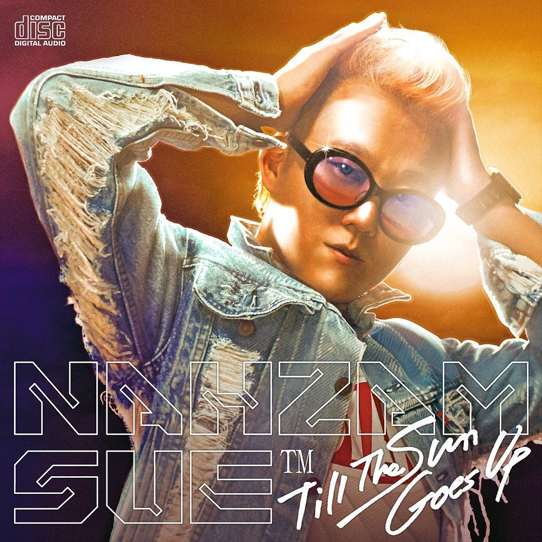 """Album cover of Nahzam Sue's """"Till the Sun Goes Up."""" Releasing October 27, 2016."""