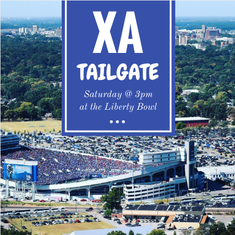 We will be tailgating tomorrow before the first game of the season at 3pm in the Student Lot. Come by and join Chi Alpha for fun, food and fellowship and then come cheer on the Tigers to victory at the game with us!