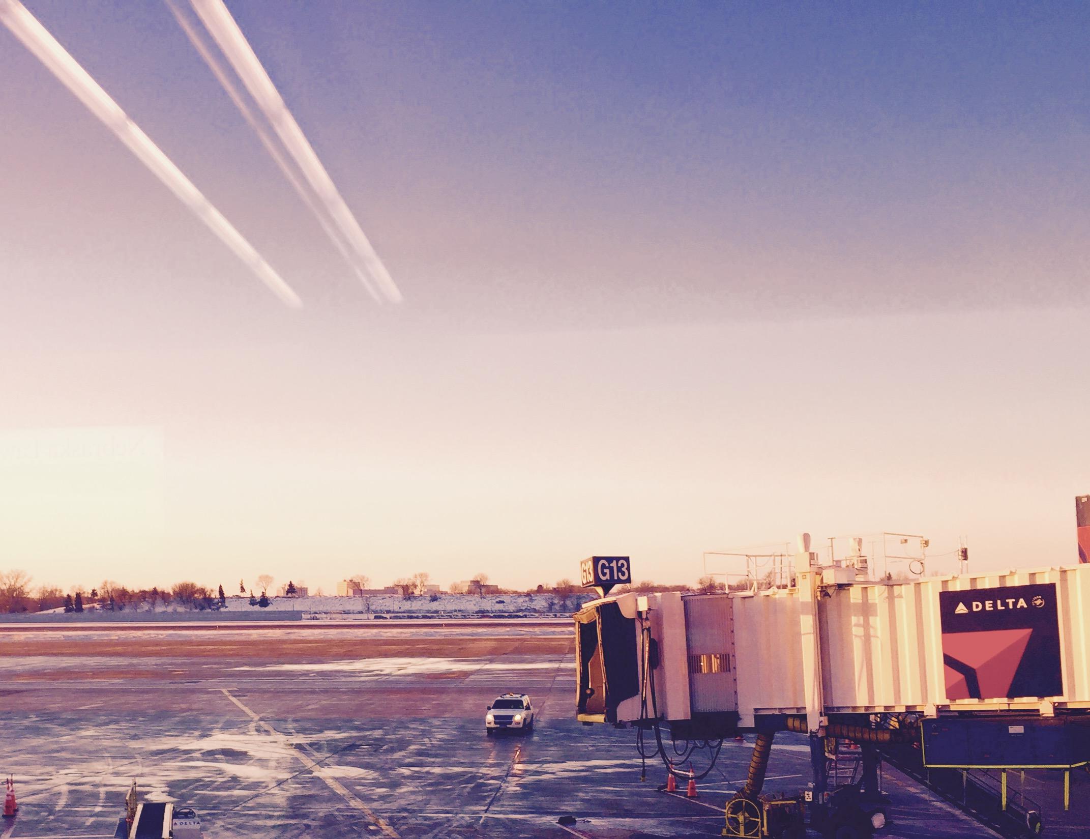 No plane here..