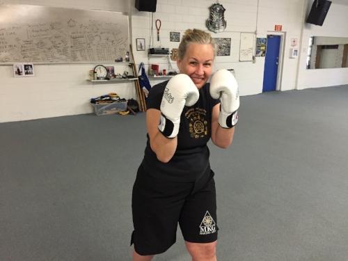 Diana Rathborne Boxing