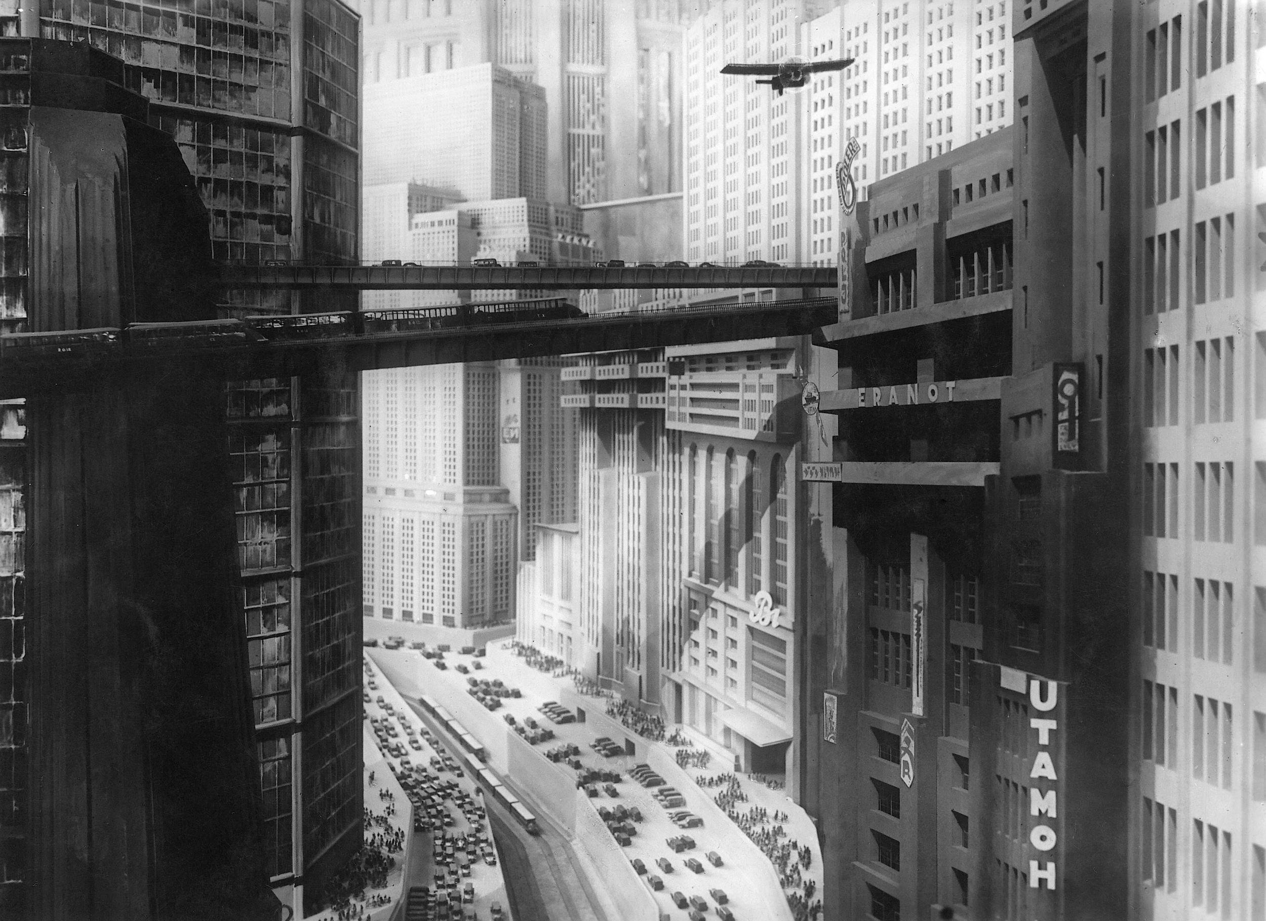 The vertical city of  Metropolis