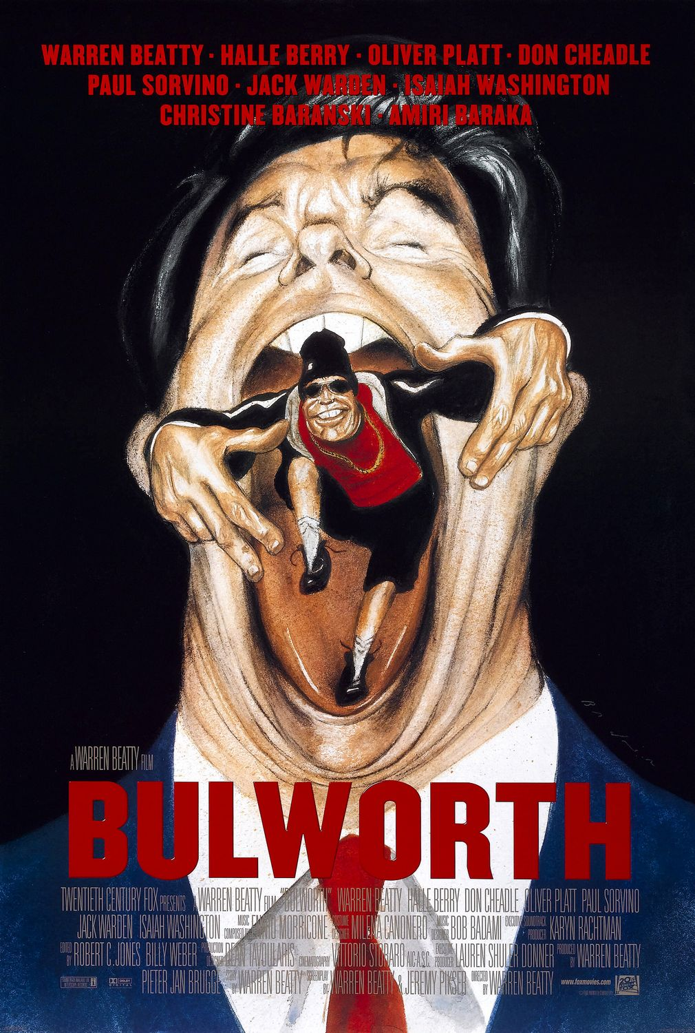 The poster for Bulworth