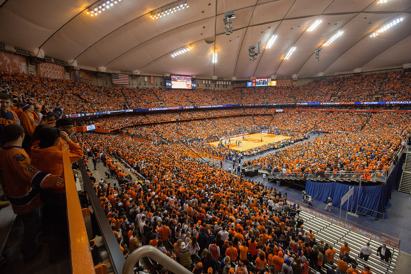 """We consider FanCompass and its technologies to be the perfect partner to collect vital data, learn about our customers and drive traffic to our channels and venues.""   Anthony Di Fino   Associate AD Syracuse University Athletics, NCAA"