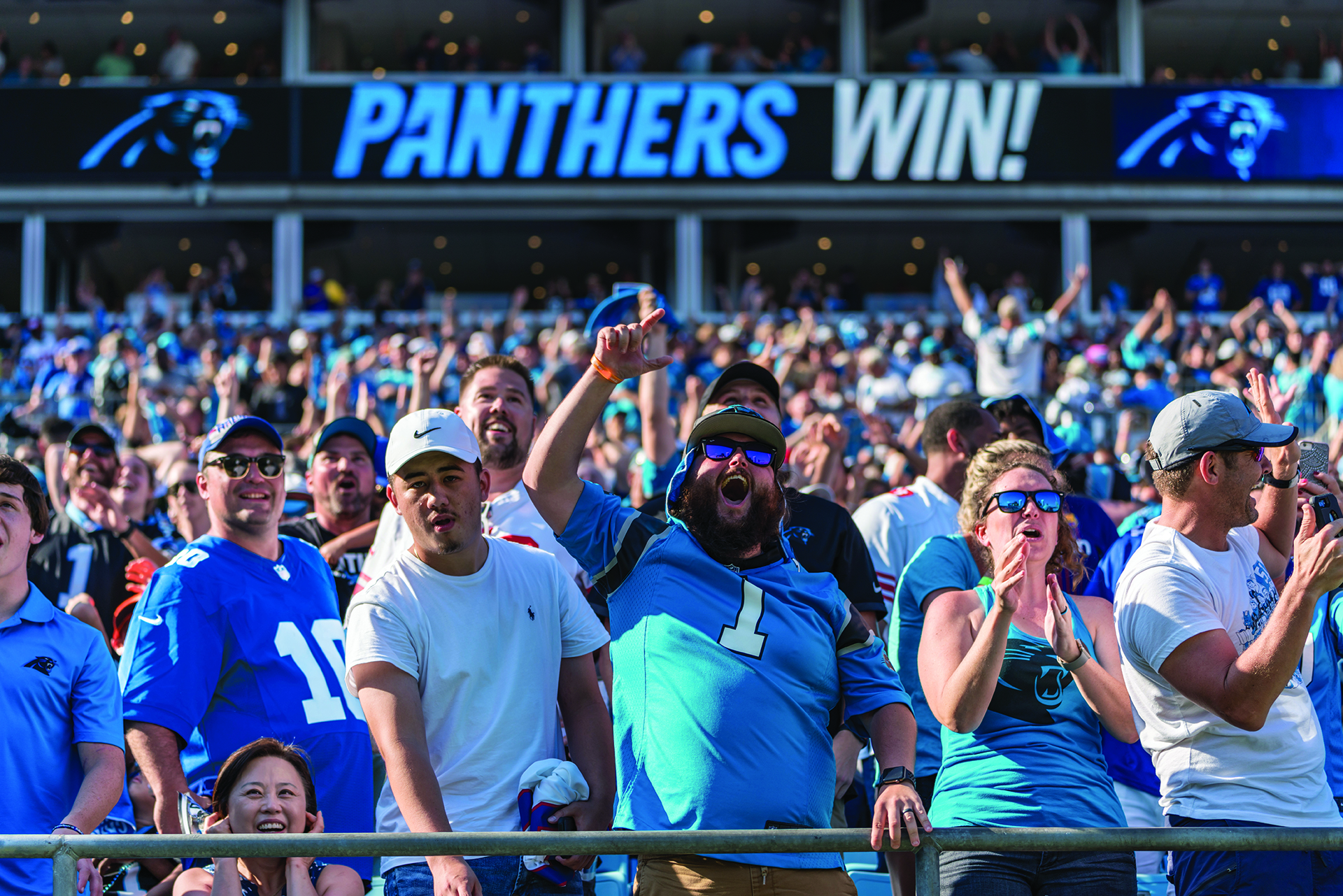 """FanCompass is helping us improve the fan experience, increase fan engagement, and grow our brand and business through creative technology solutions.""   Tom Glick   President, Carolina Panthers"