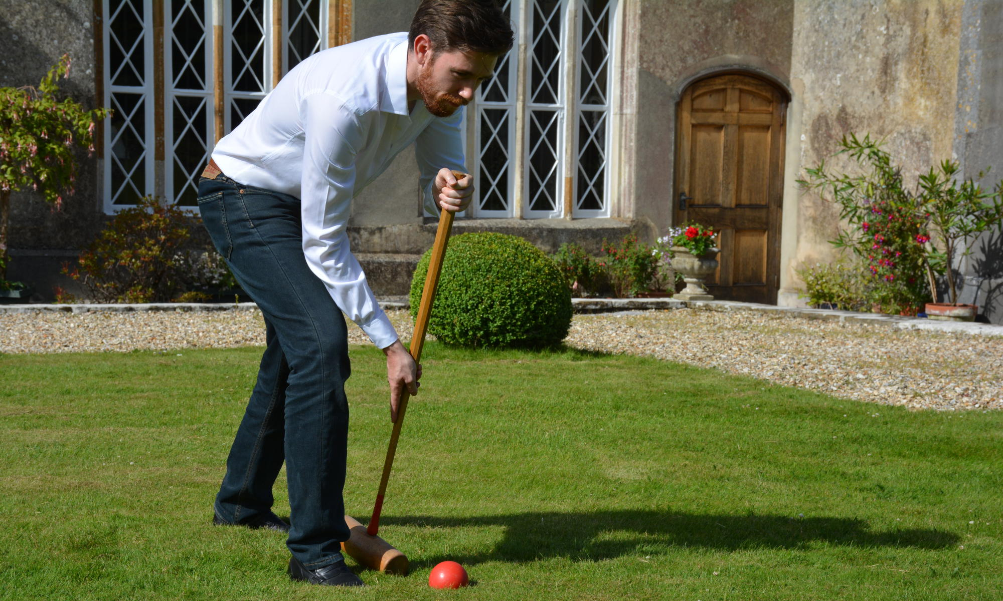 Buchanan & Wilmot - Croquet on the lawn - British made luxury cufflinks, gifts for men and women