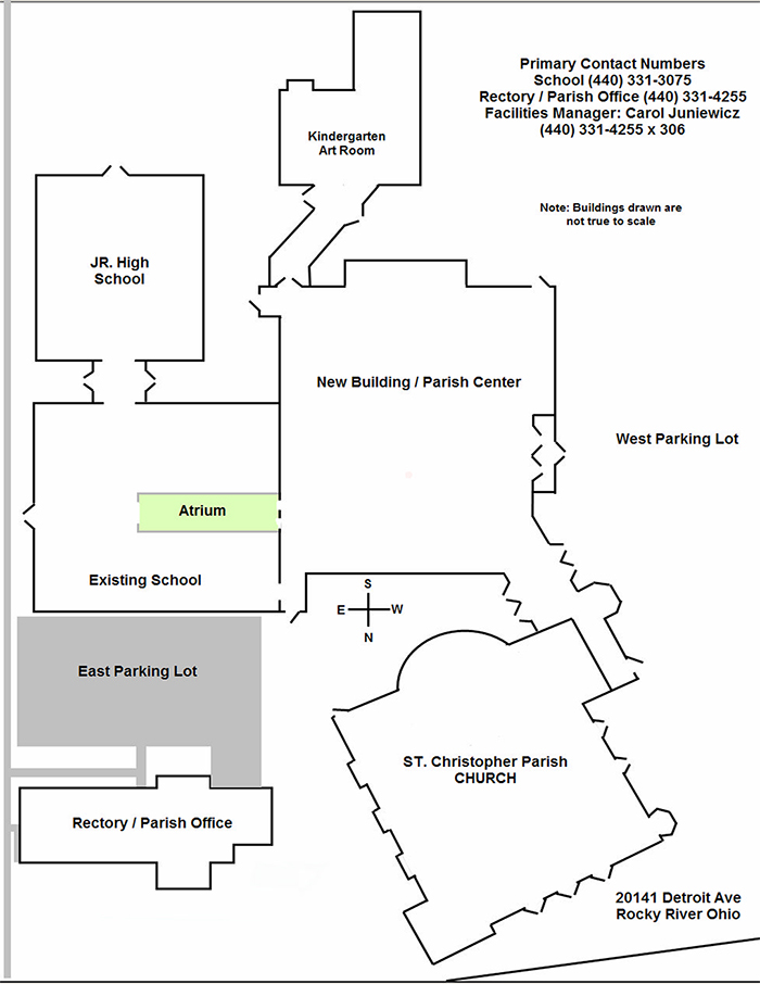 St. Christopher Facilities Map: click on the image to download a PDF of the map.