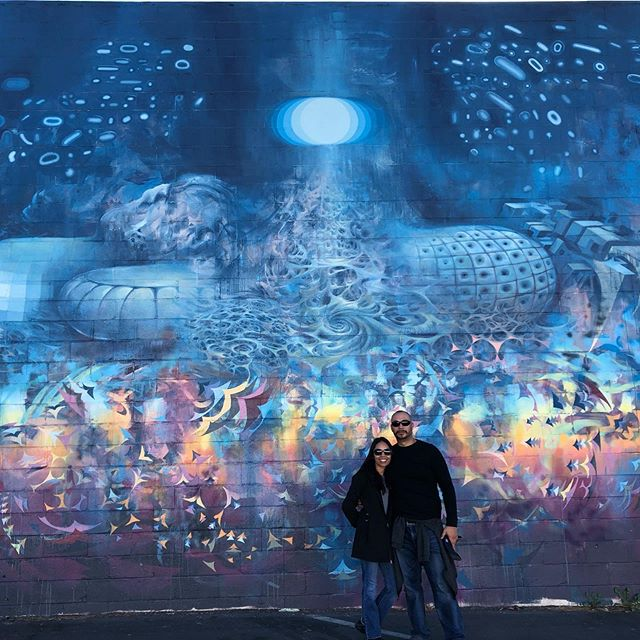 Another great Saturday walking tour. • • [Mural by @mars_1_ ] • • • #sactourcompany #coollikesacramento #sacramento #sactown #visitsac #visitsacramento #visitcalifornia #downtownsac #streetsac #streetartsacramento #sacramentoart #sacramentomurals #runningtours #walkingtours