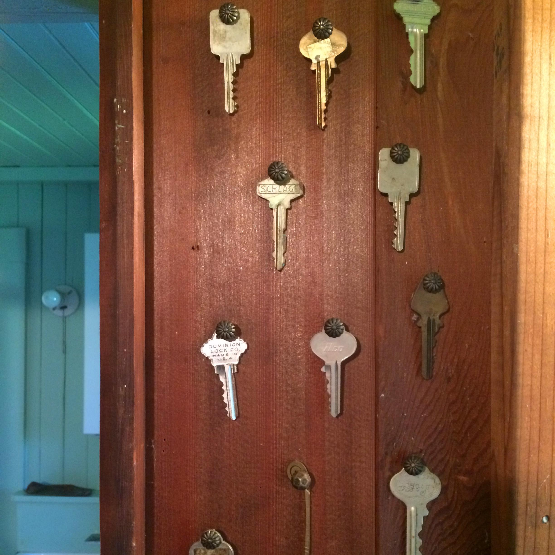 friend's wall of keys