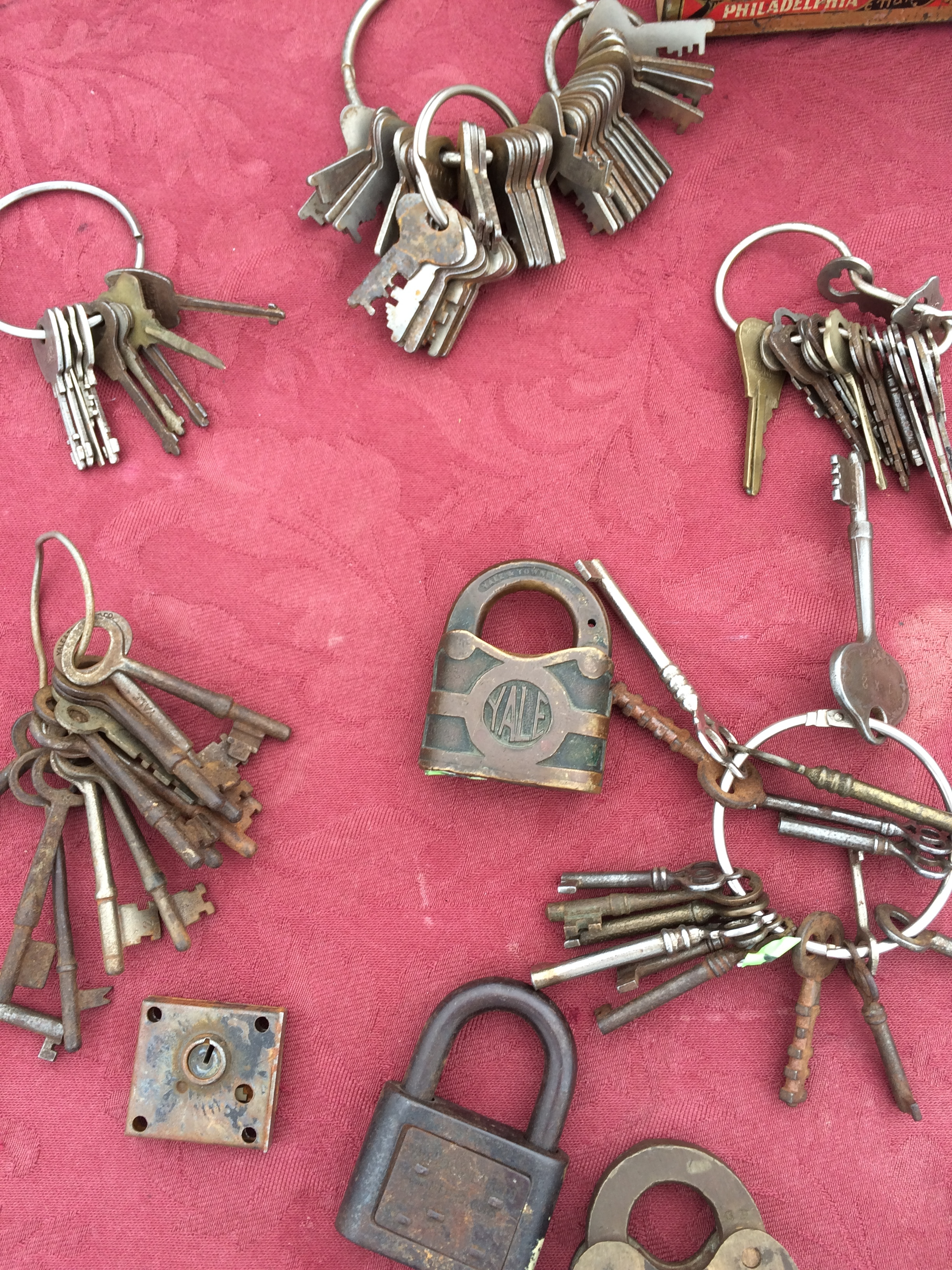 keys and the locks they don't open