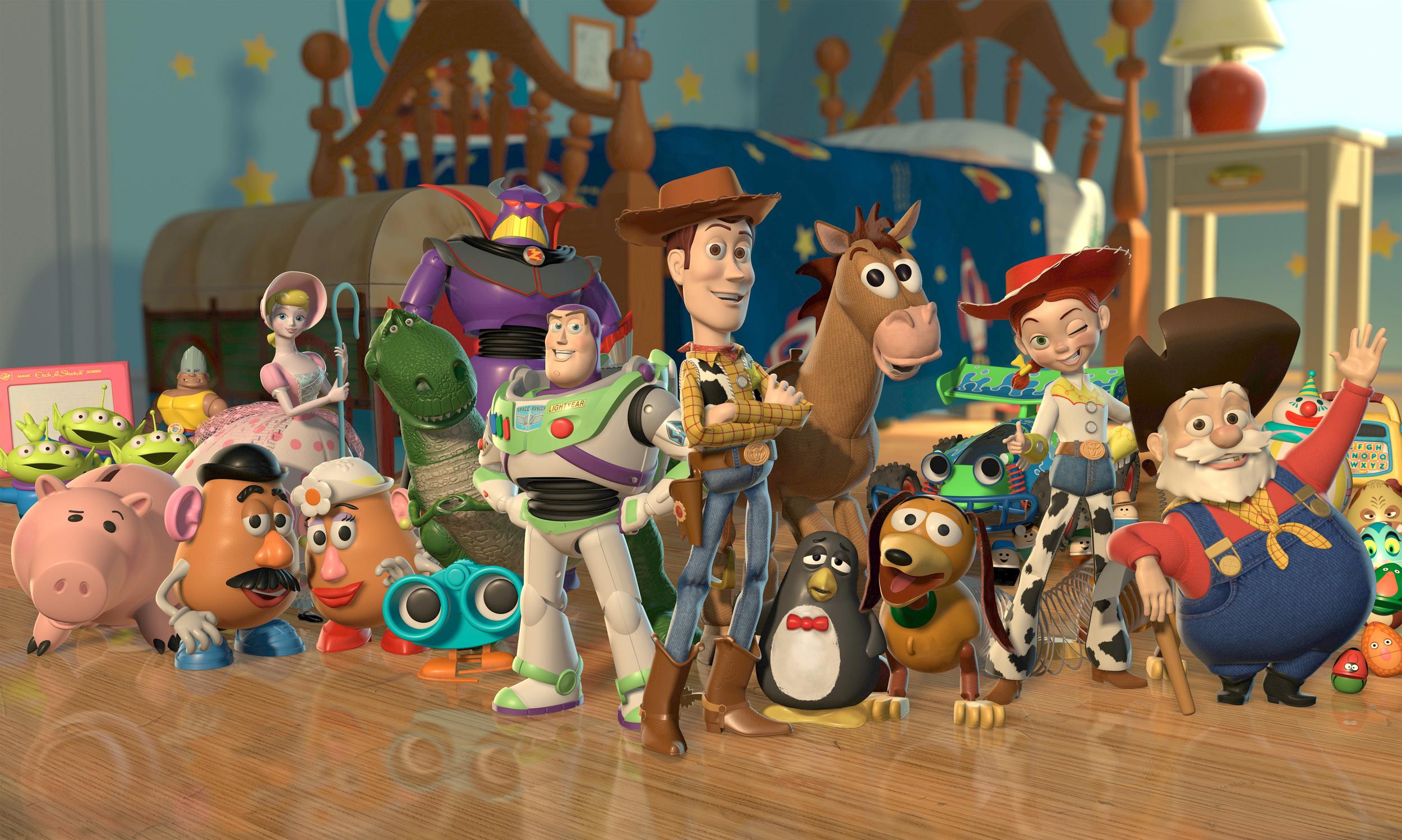 Copyright 1995 Pixar