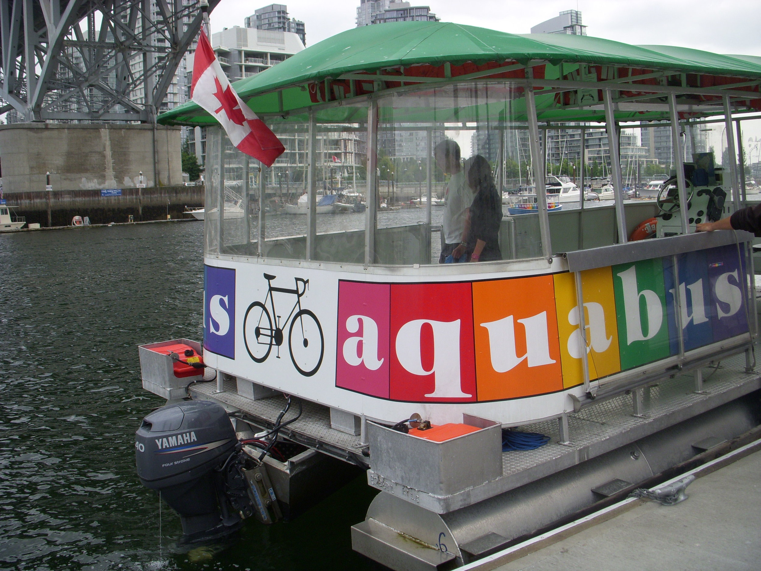 This, then is an Aquabus.