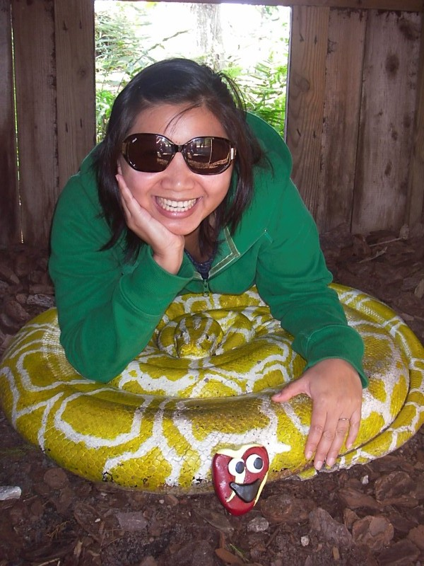 Mai and snake