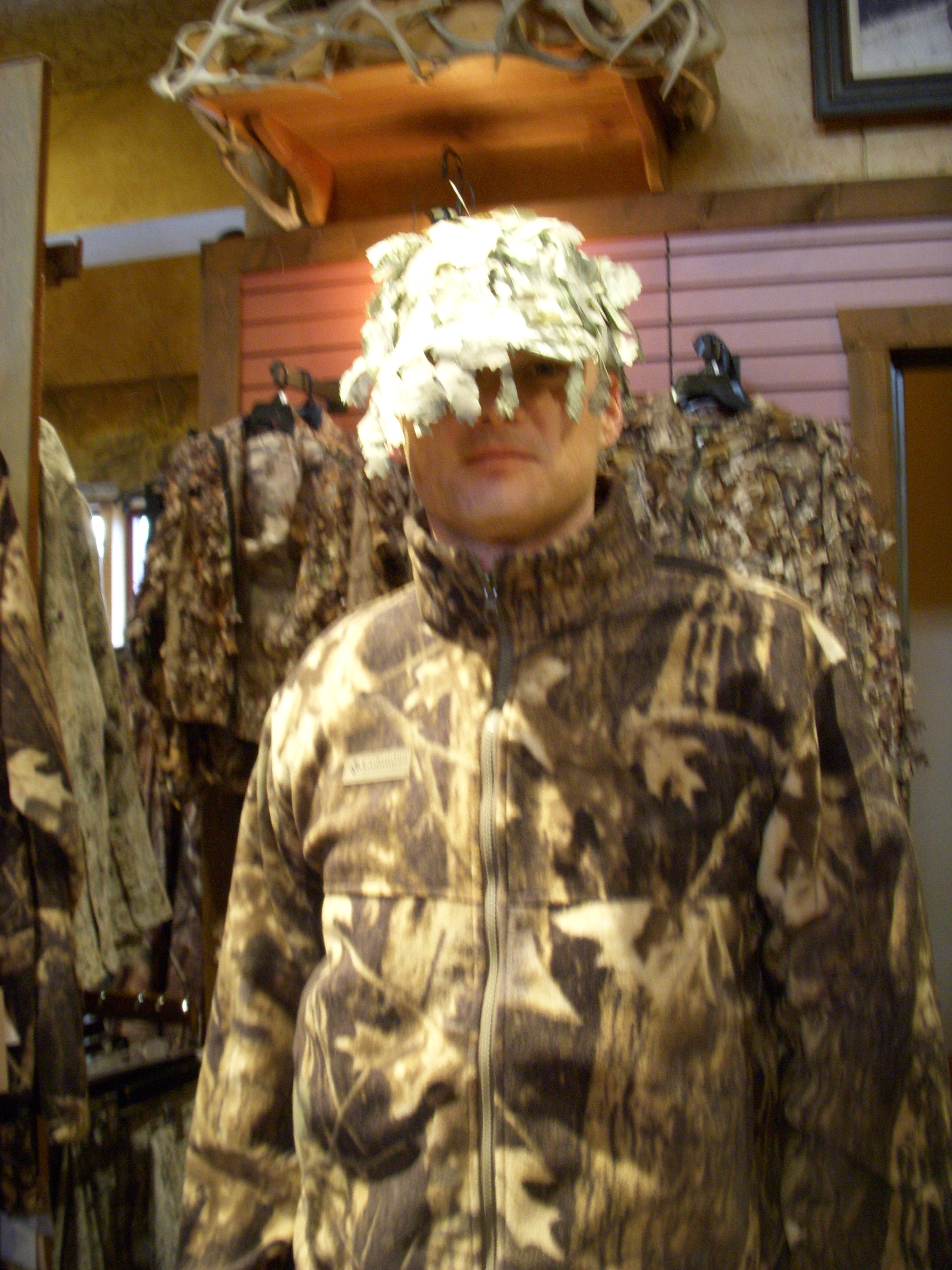 "This here is what our red state brothers may refer to as ""a mess of woodland camouflage""."