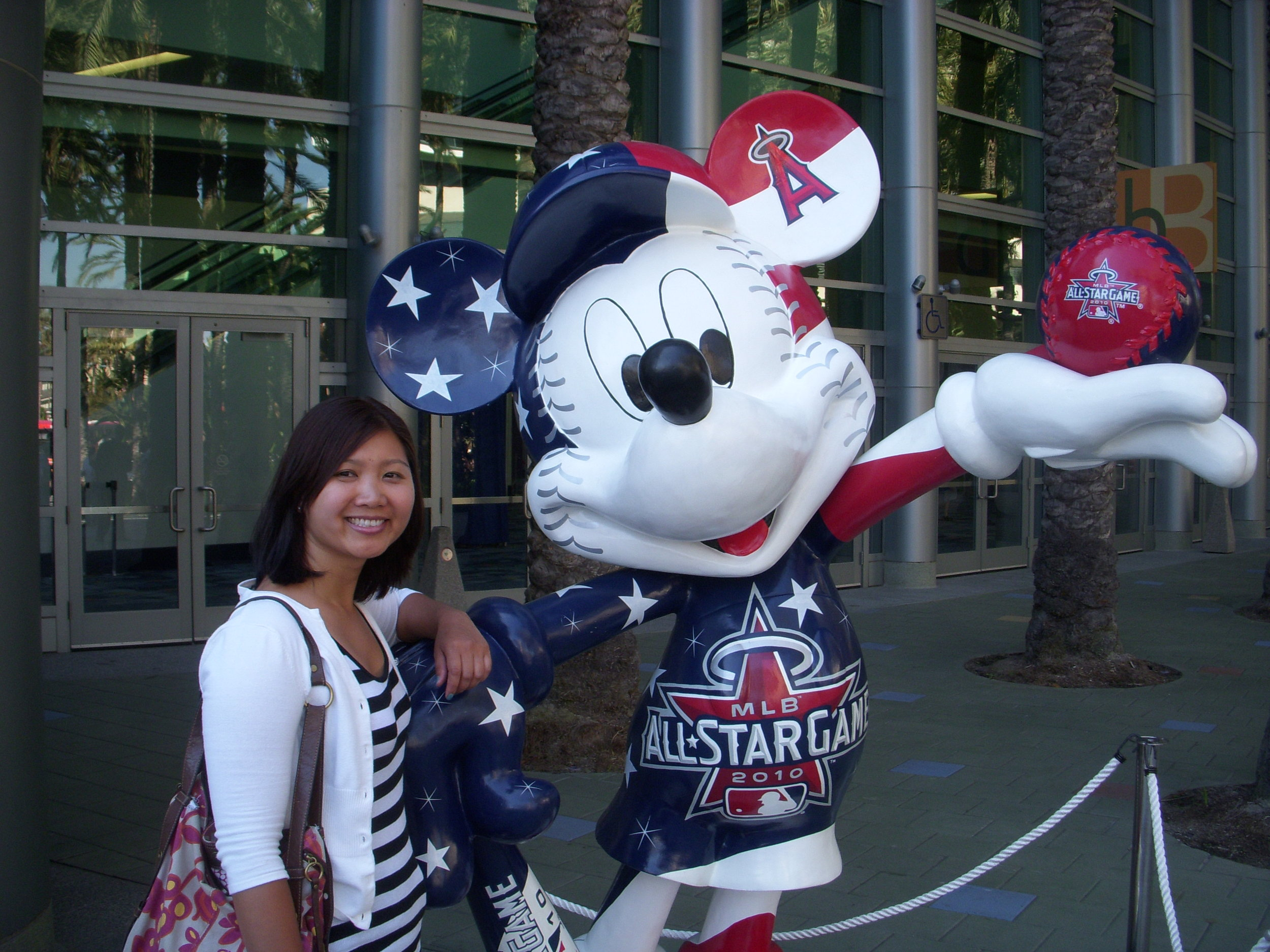 Mai and all star mickey