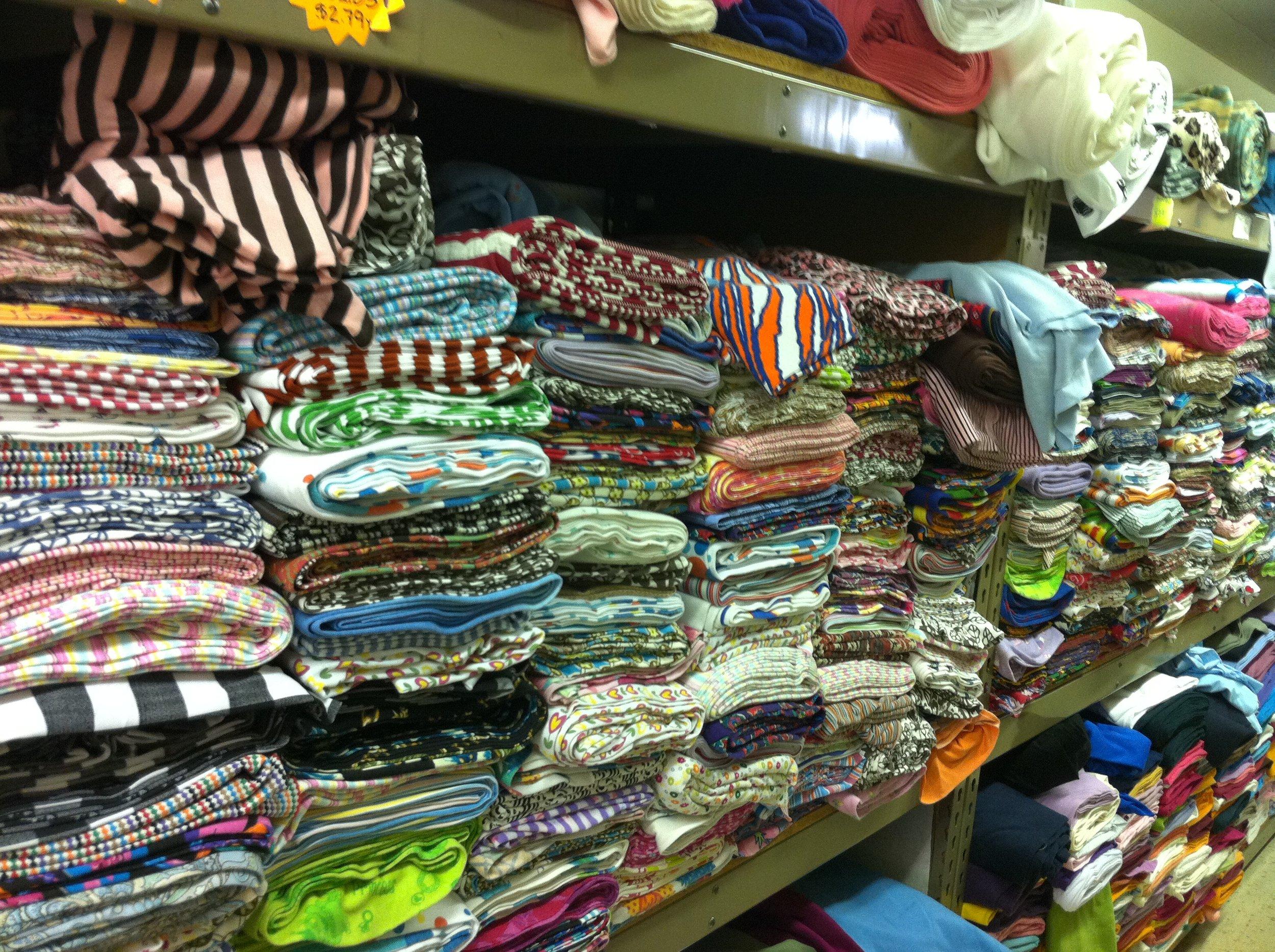 So much fabric