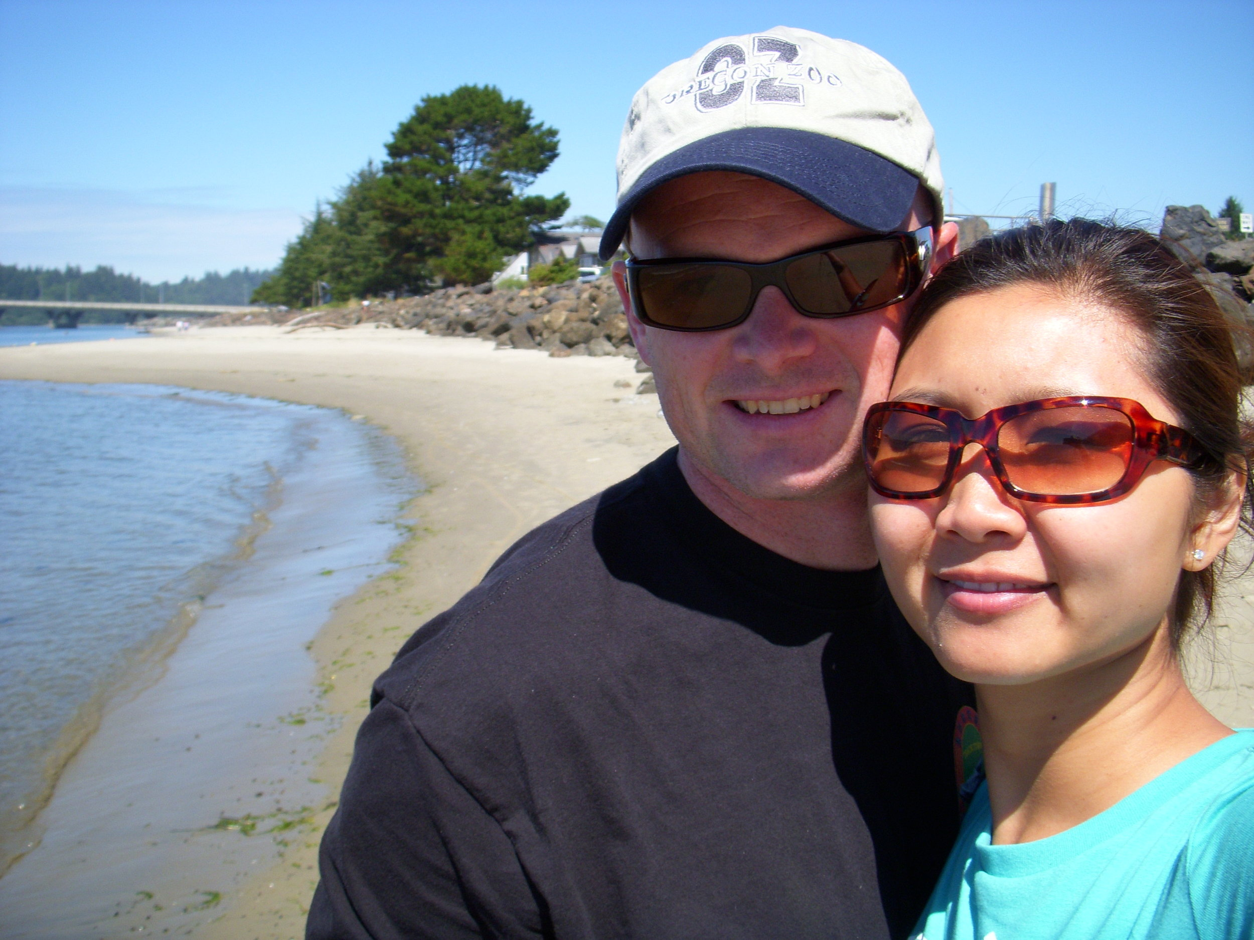 Ed and mai at waldport