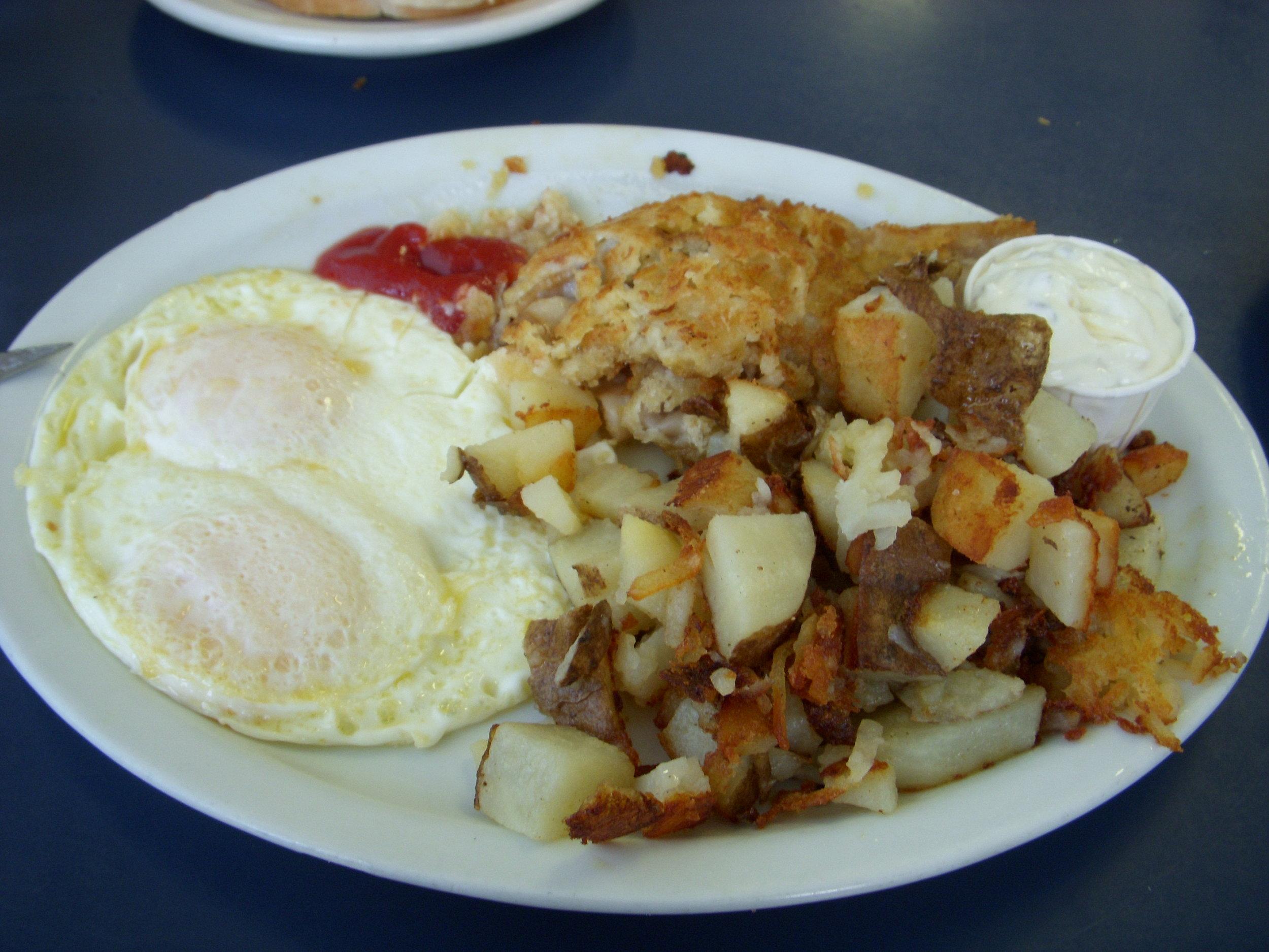 Razor clams for breakfast