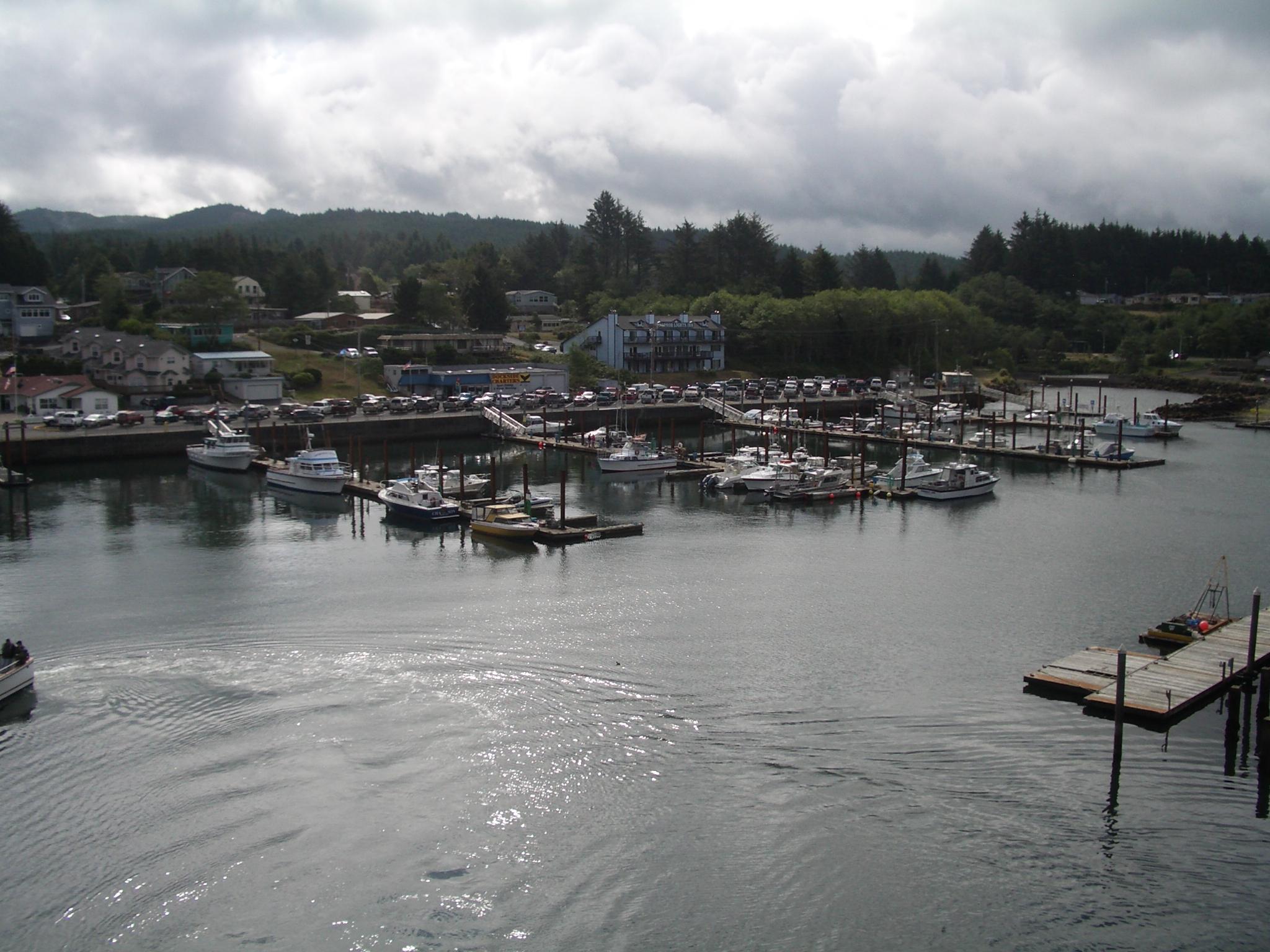 Worlds smallest harbor
