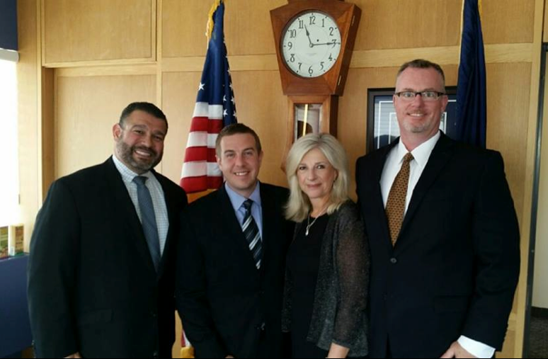 Our advocacy work  - Wednesday August 26, 2015, PACIE visit in Harrisburg to meet with the PA Secretary of Education Dr. Pedro Rivera.    From left: PA Secretary of Education Dr. Pedro Rivera, former PACIE President and Pitt Study Abroad Office Director Jeff Whitehead, Educational Consultant Dr. Michele Sellitto, former PACIE President and Eastern Lancaster Superintendent Dr. Robert Hollister.  Pennsylvania Department of Education
