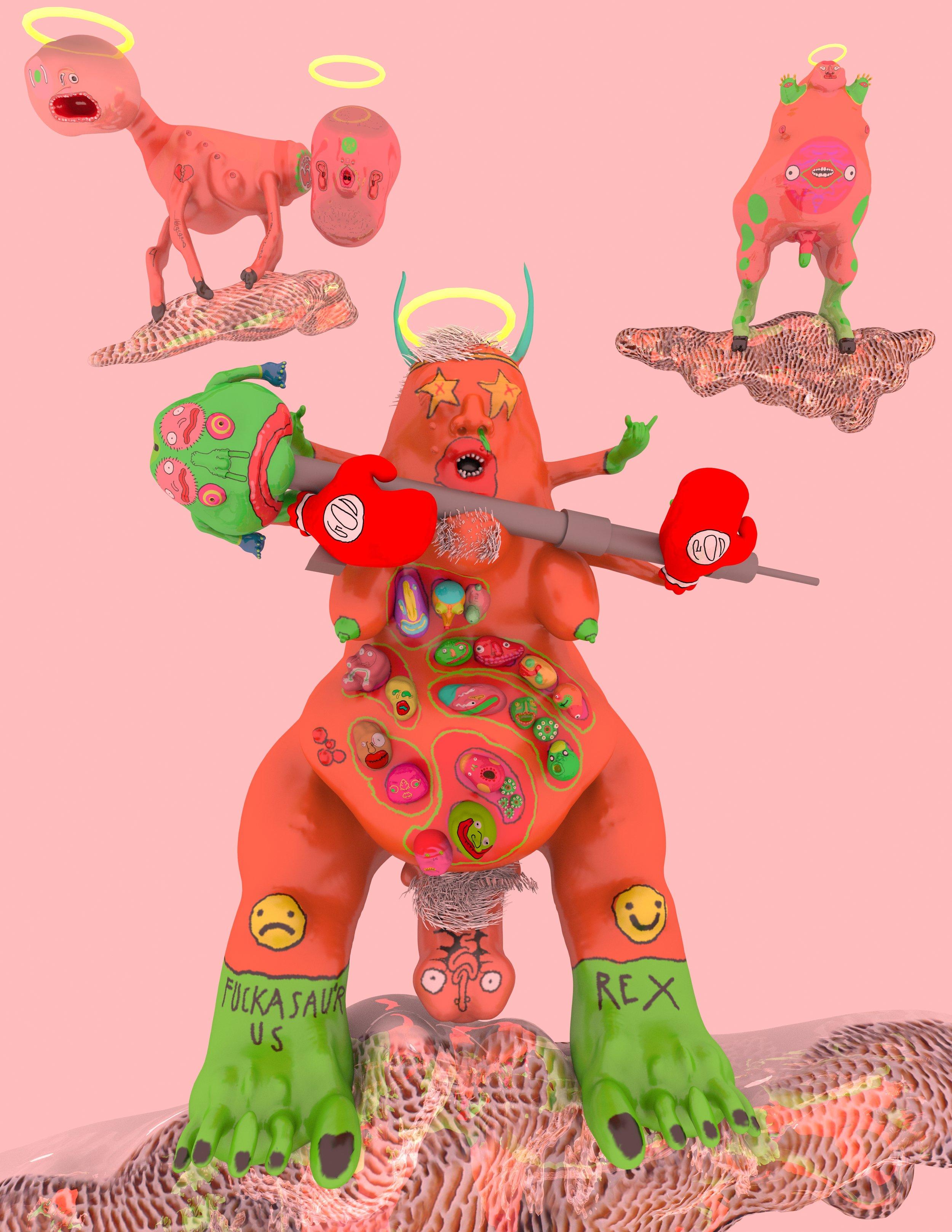 _God is an Orange Dinosaur with an Assult Weapon.jpeg