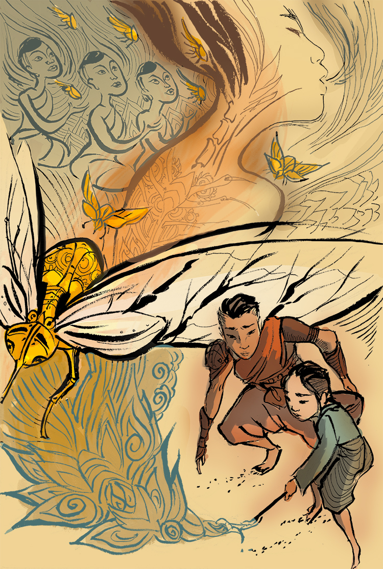 SEA Woman and Insects color.jpg