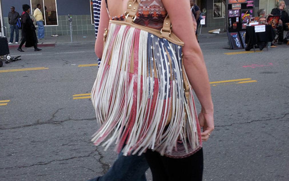 Pamela Ybañez, from  Flag Project , 2013.
