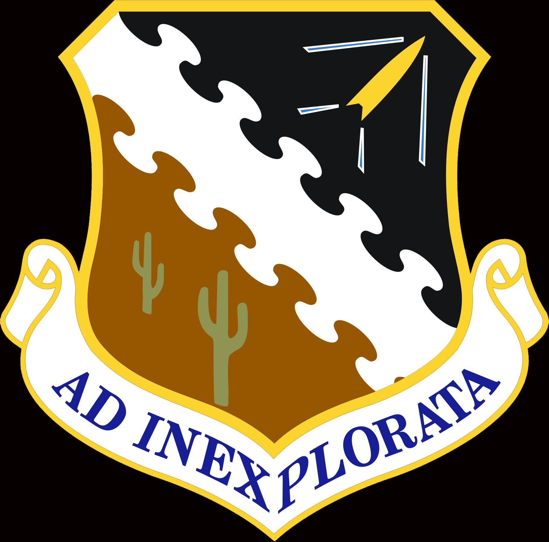 Edwards Air Force base logo.
