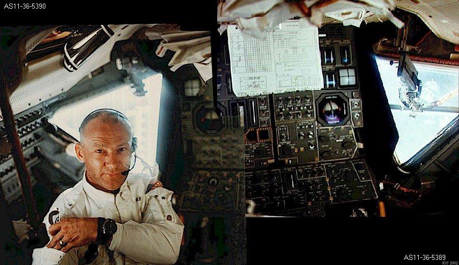 Buzz Aldrin, Apollo 11