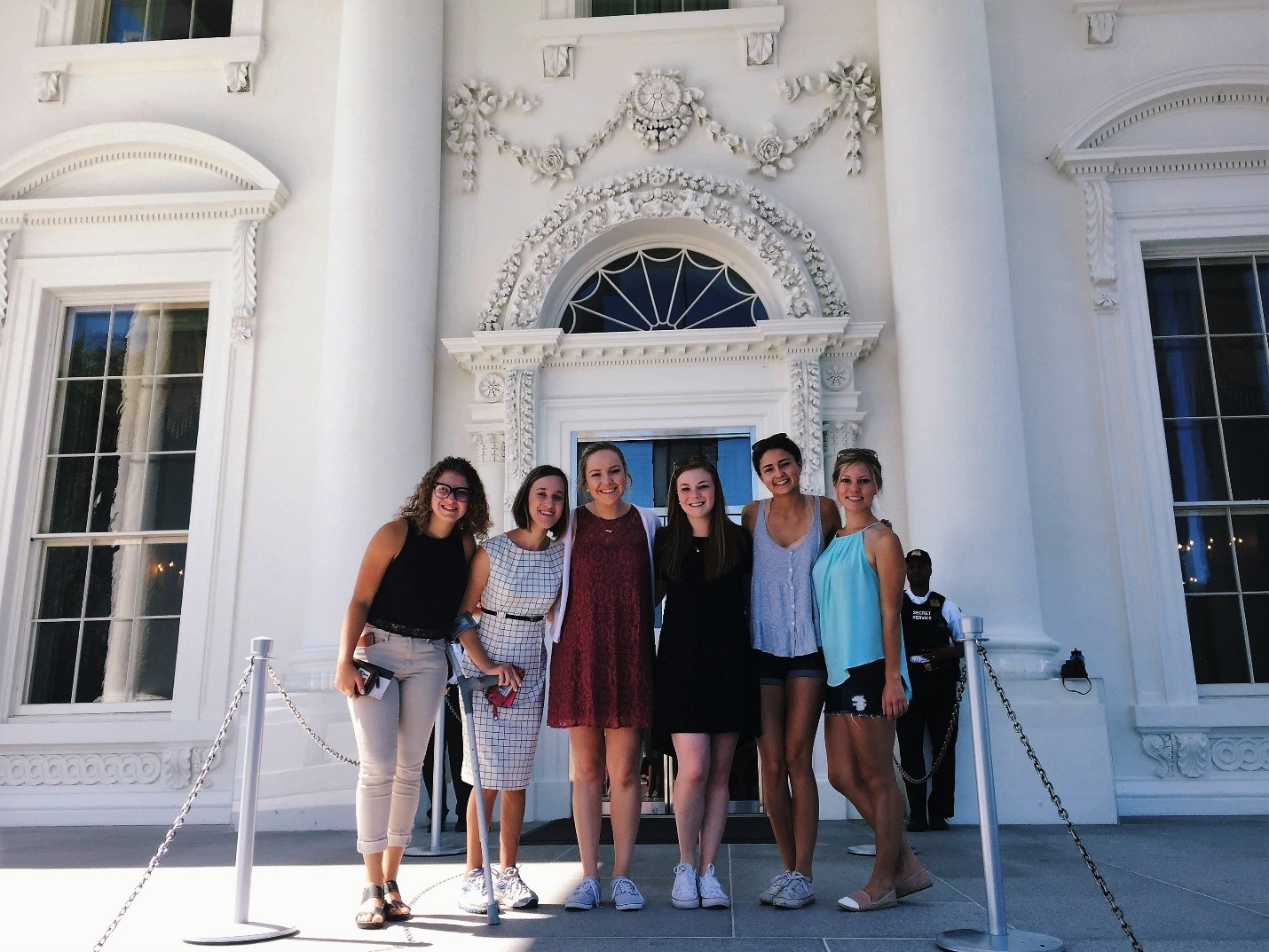 My roommates and I got to tour the White House
